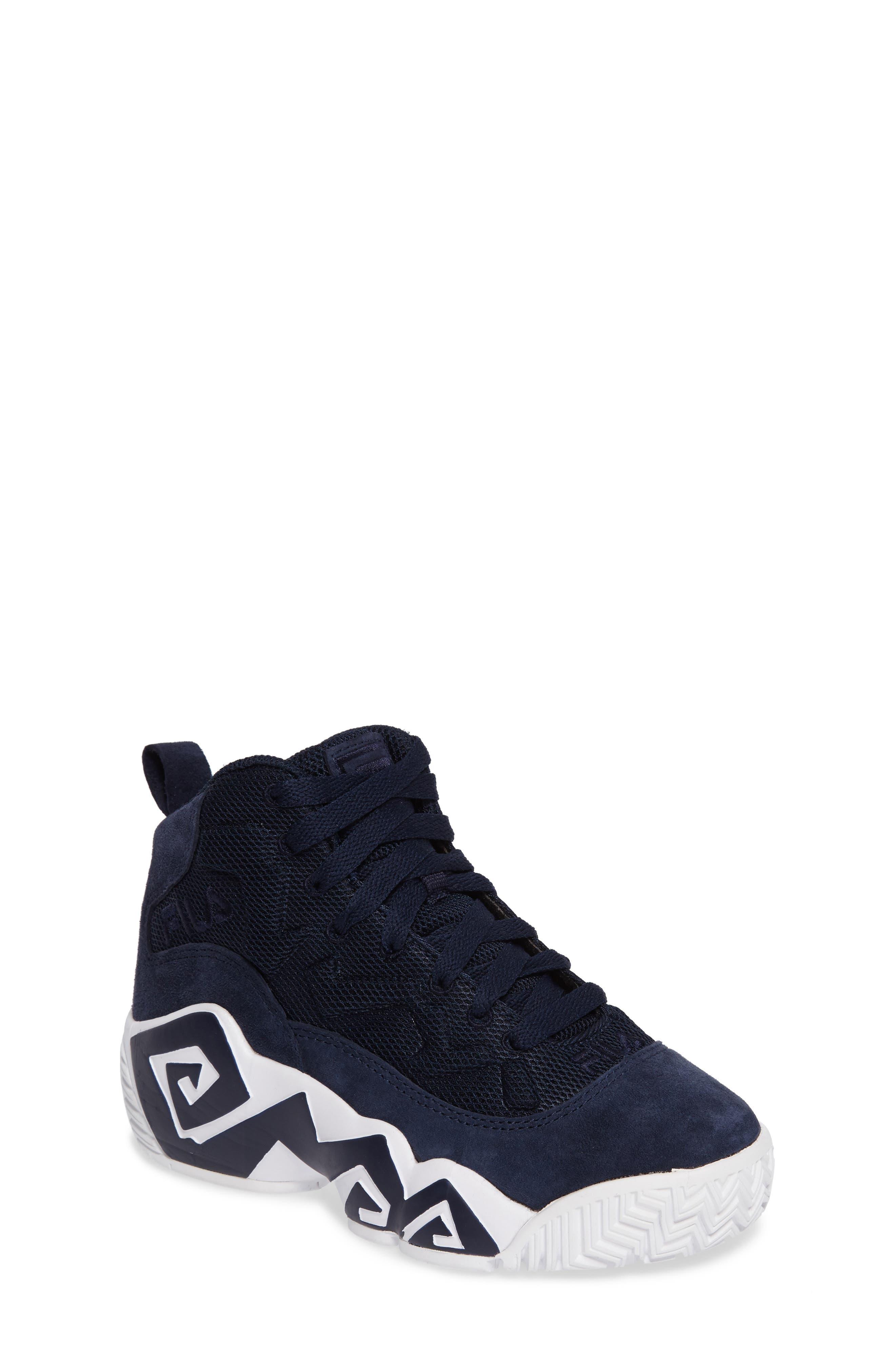 MB Mesh Sneaker,                         Main,                         color, Navy/ White