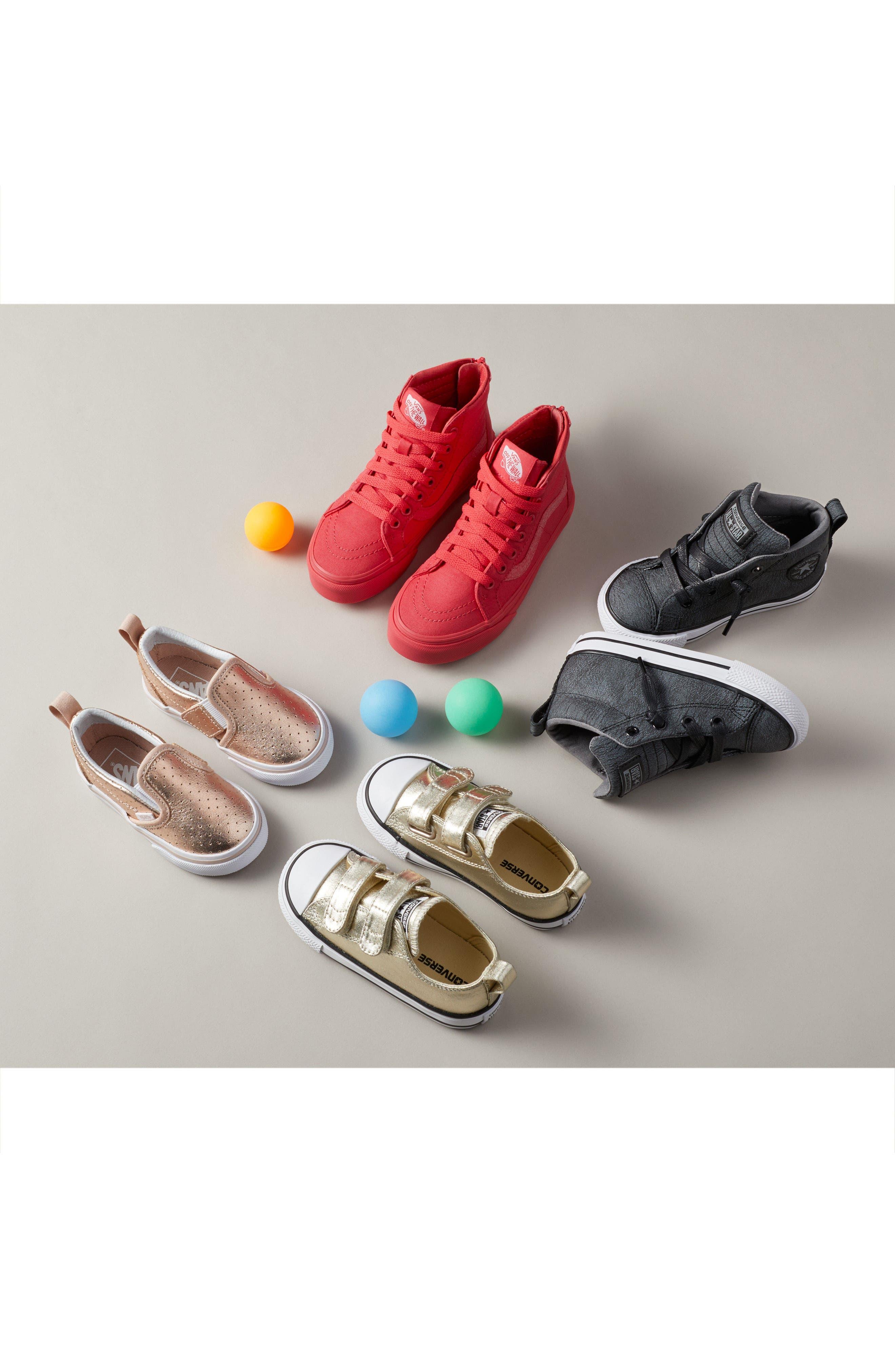 'Classic' Slip-On Sneaker,                             Alternate thumbnail 7, color,