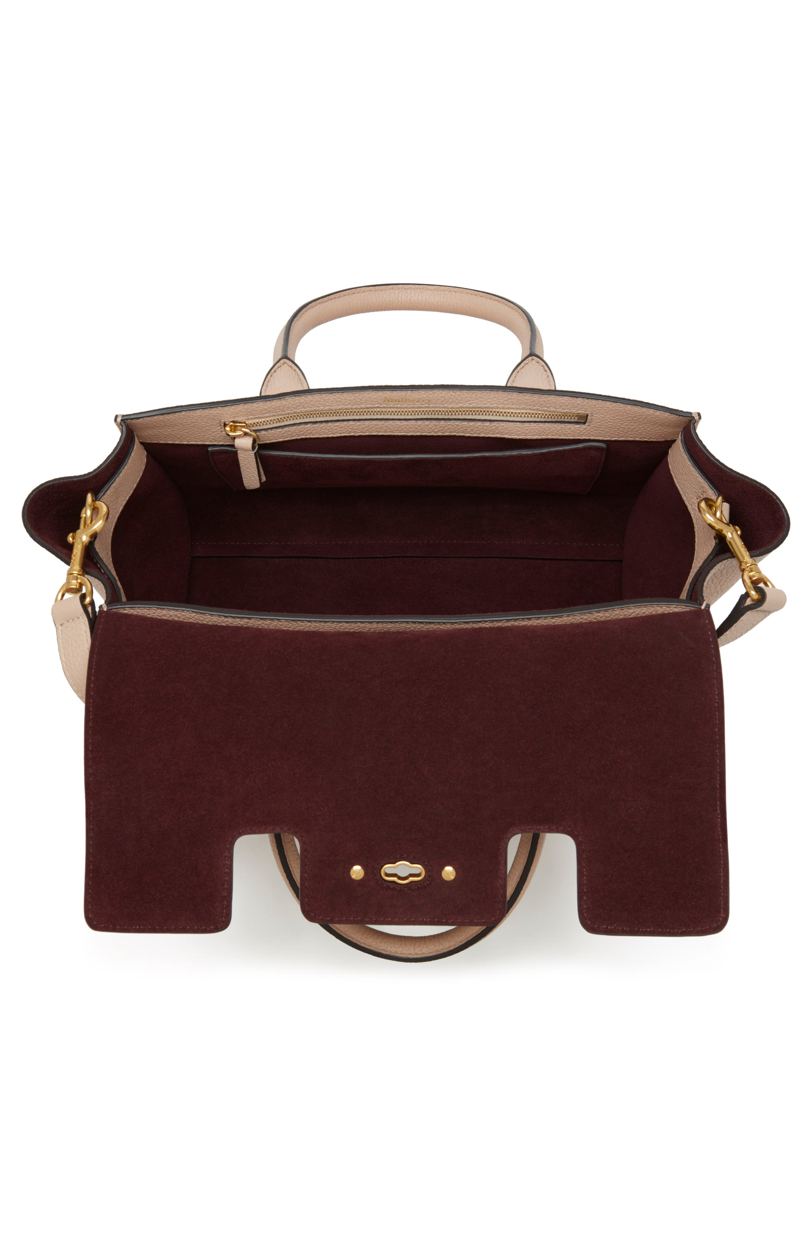 Alternate Image 3  - Mulberry Small Bayswater Leather Satchel
