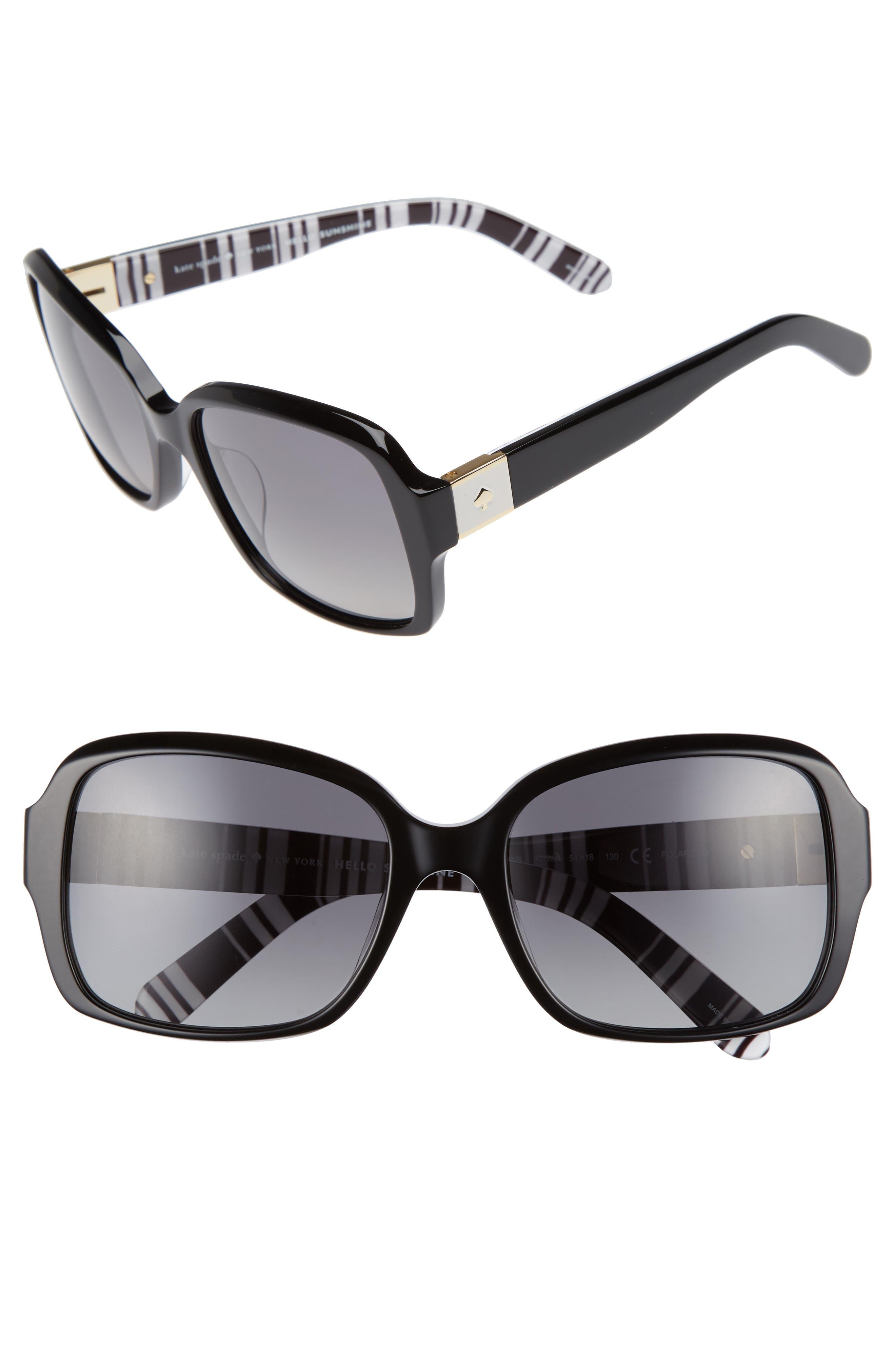 Main Image - kate spade new york annor 54mm polarized sunglasses