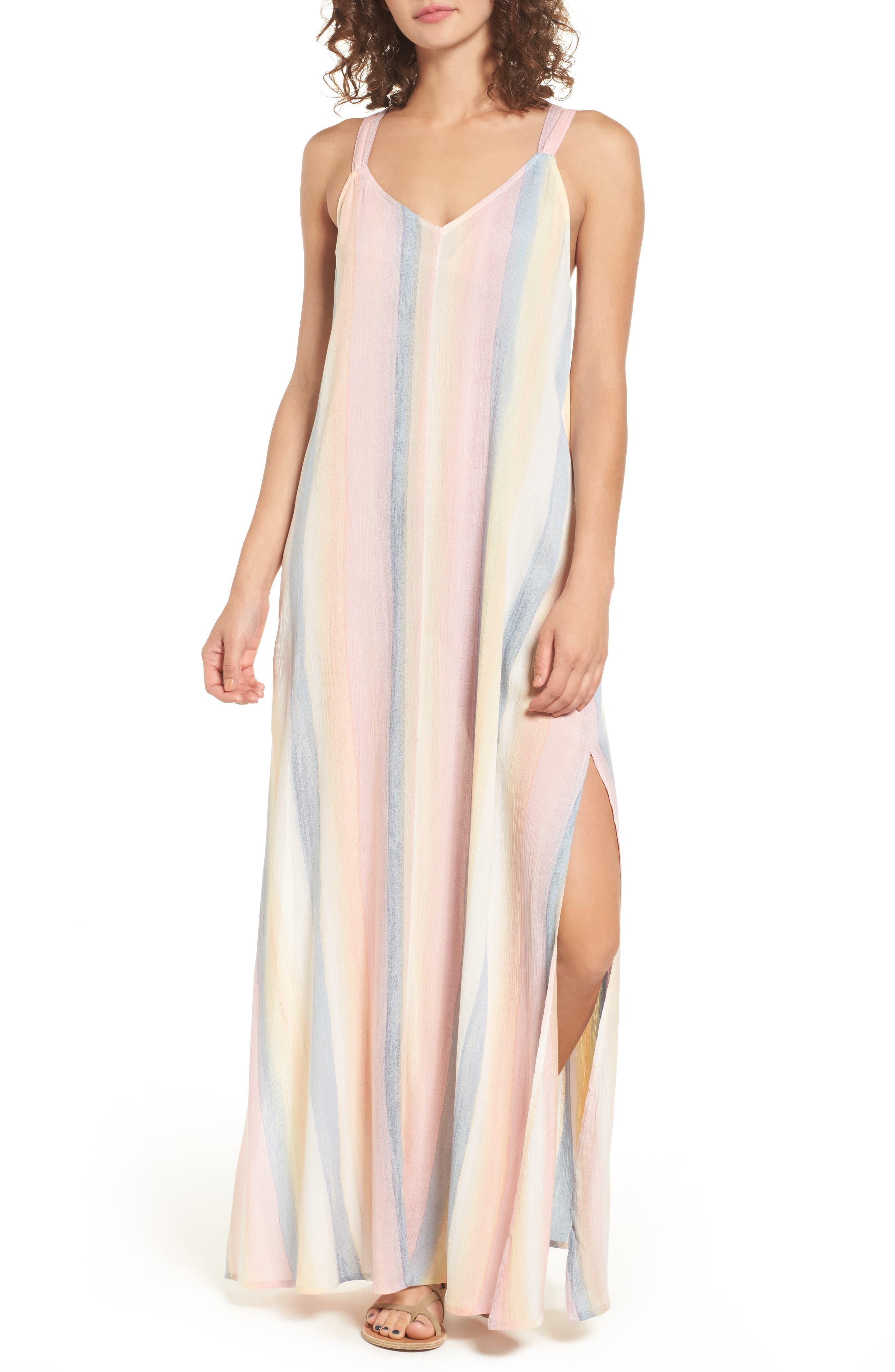 Alternate Image 1 Selected - Billabong Sky High Maxi Dress