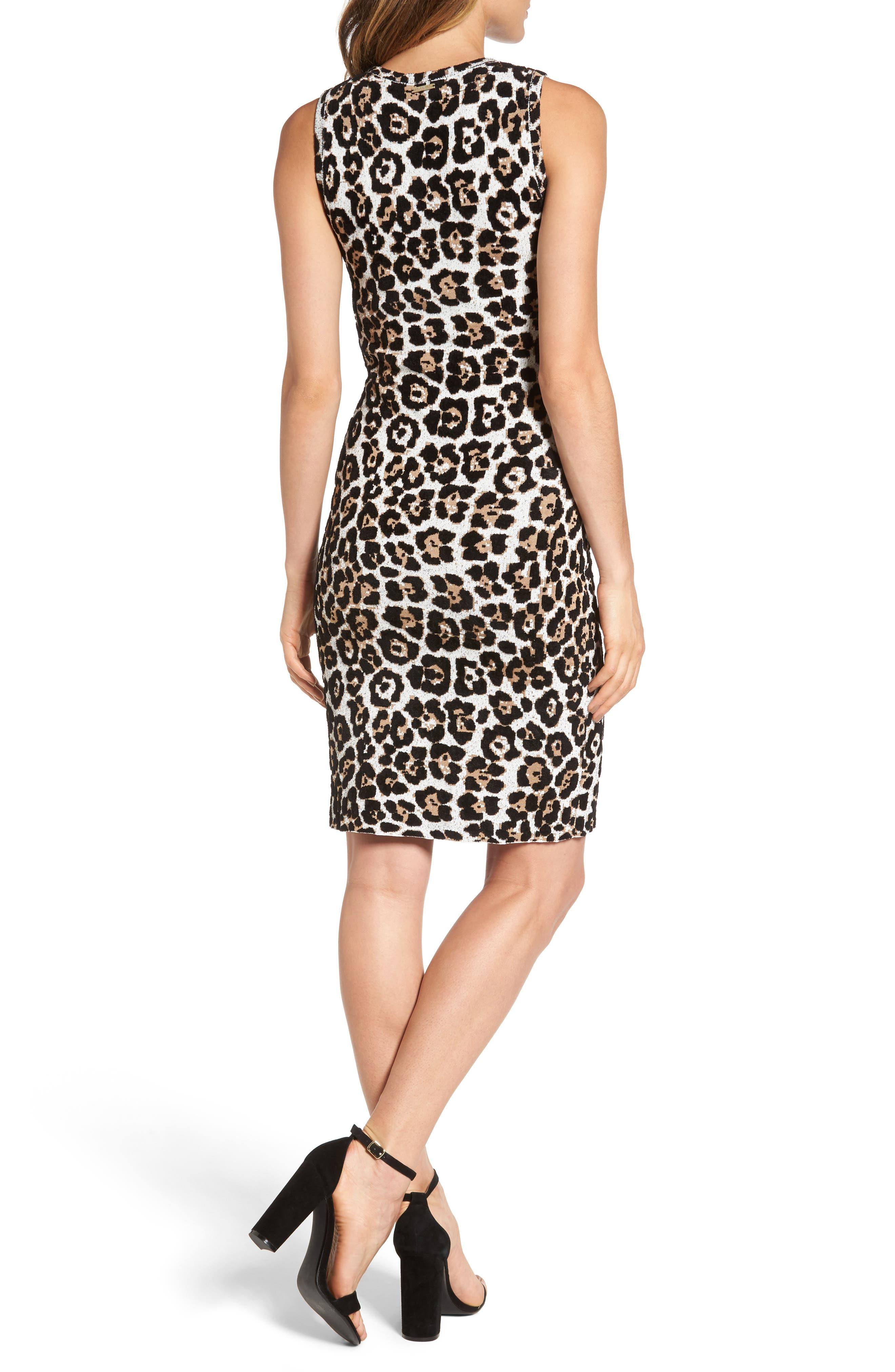 Alternate Image 2  - MICHAEL Michael Kors Animal Print Sheath Dress