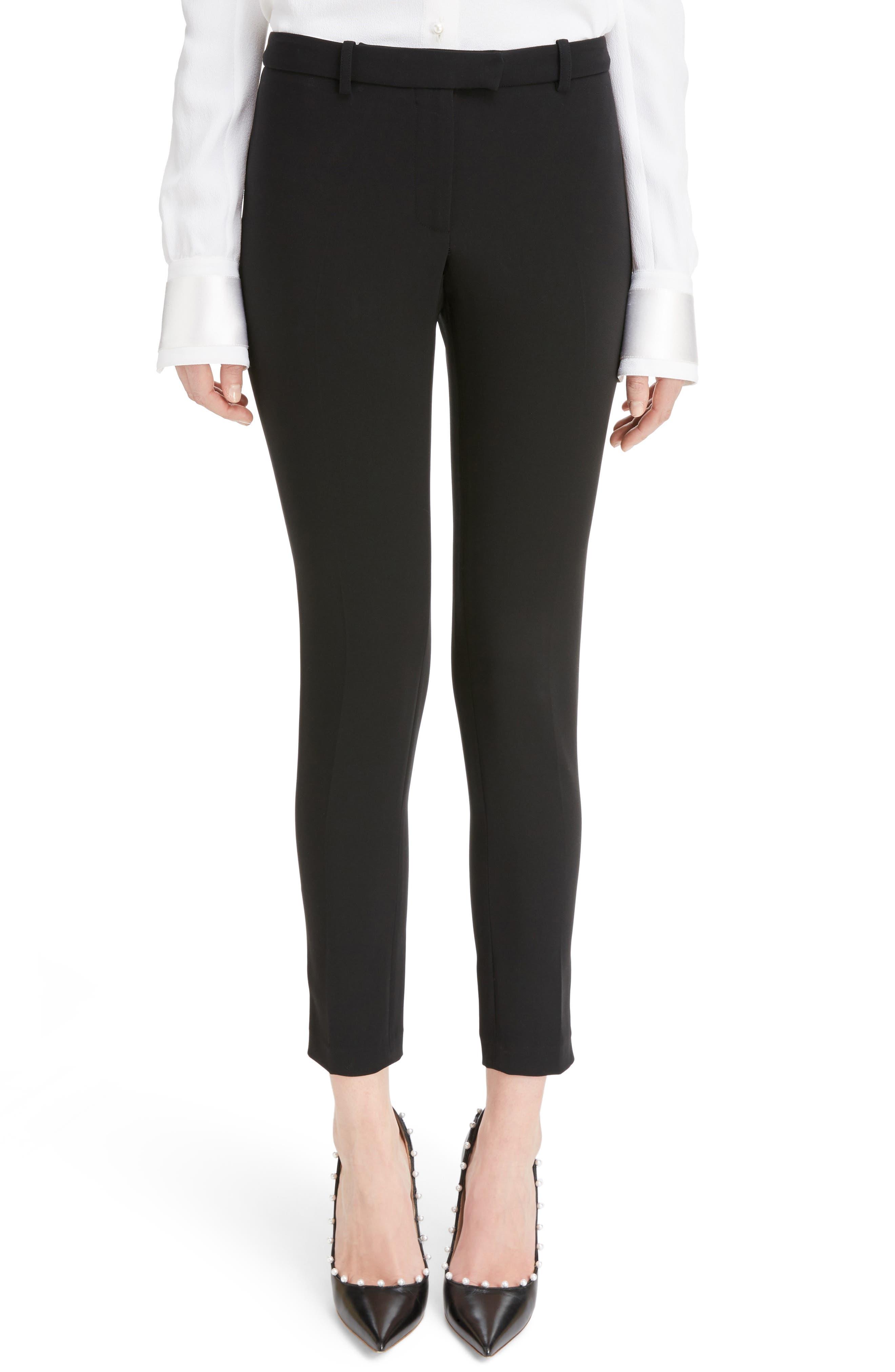 Henri Stretch Skinny Pants,                         Main,                         color, Black