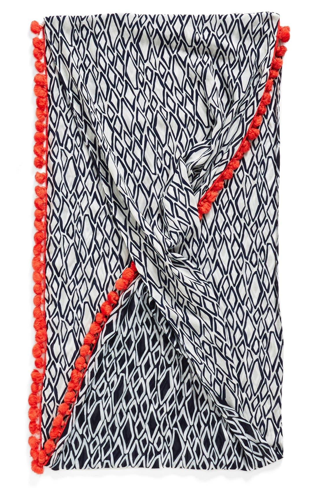 Alternate Image 2  - Diane von Furstenberg Geometric Print Infinity Scarf
