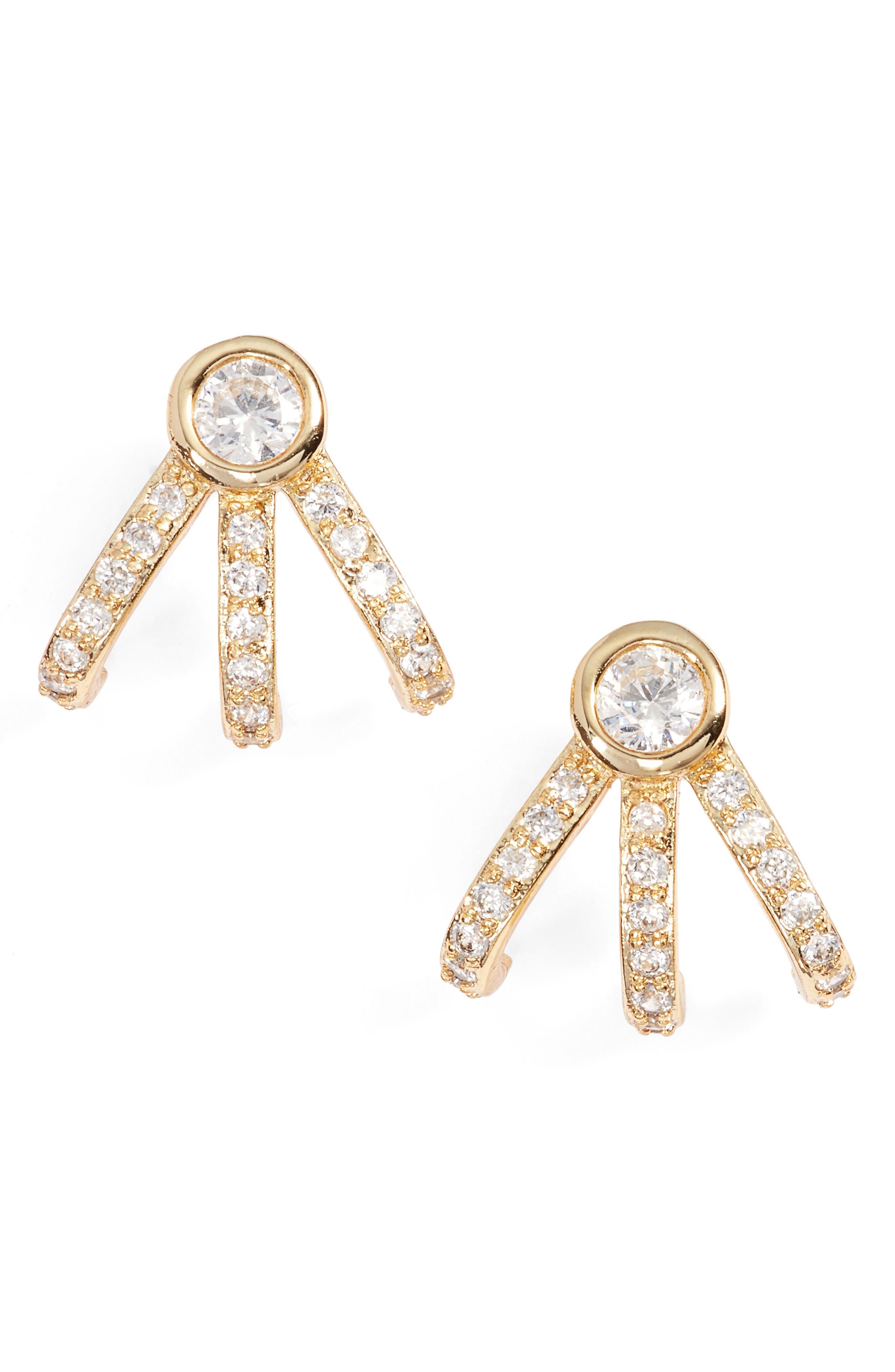 Melinda Maria Mini Huggie Earrings