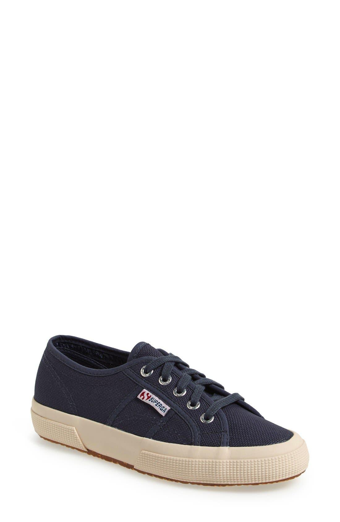 'Cotu' Sneaker,                         Main,                         color, Navy Canvas