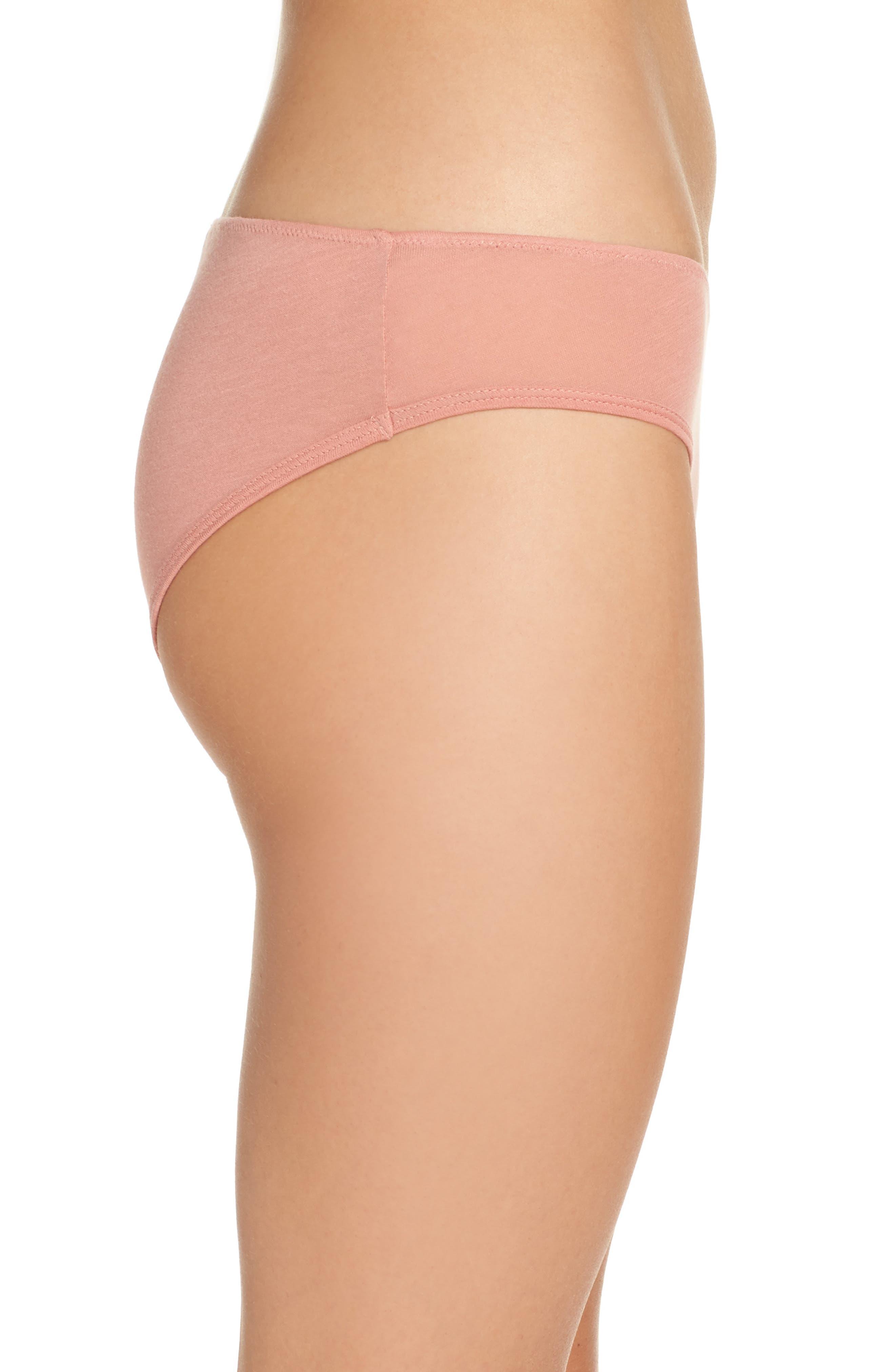 Alternate Image 3  - skin Organic Cotton Bikini