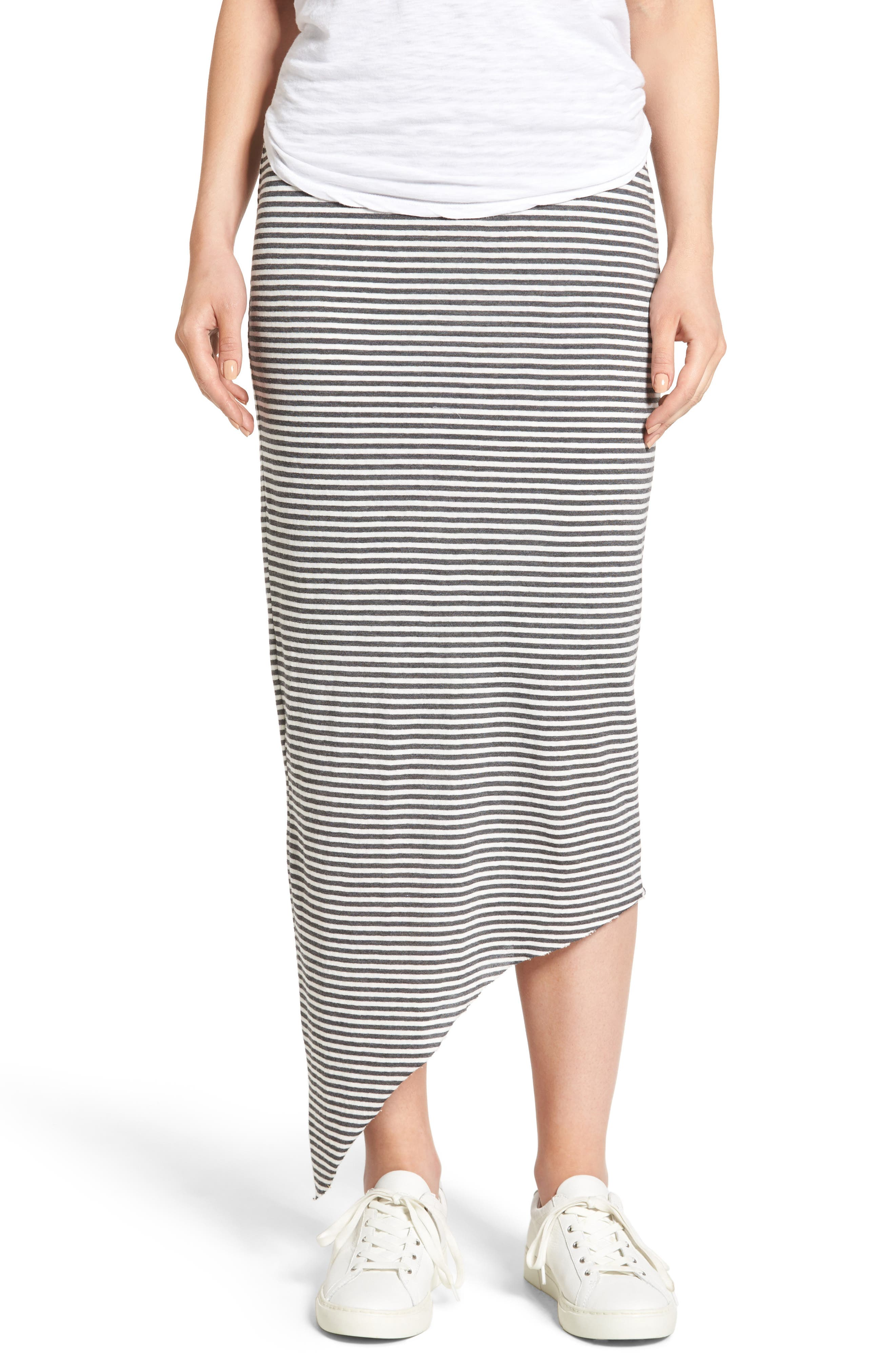 Frank & Eileen Tee Lab Asymmetrical Maxi Skirt
