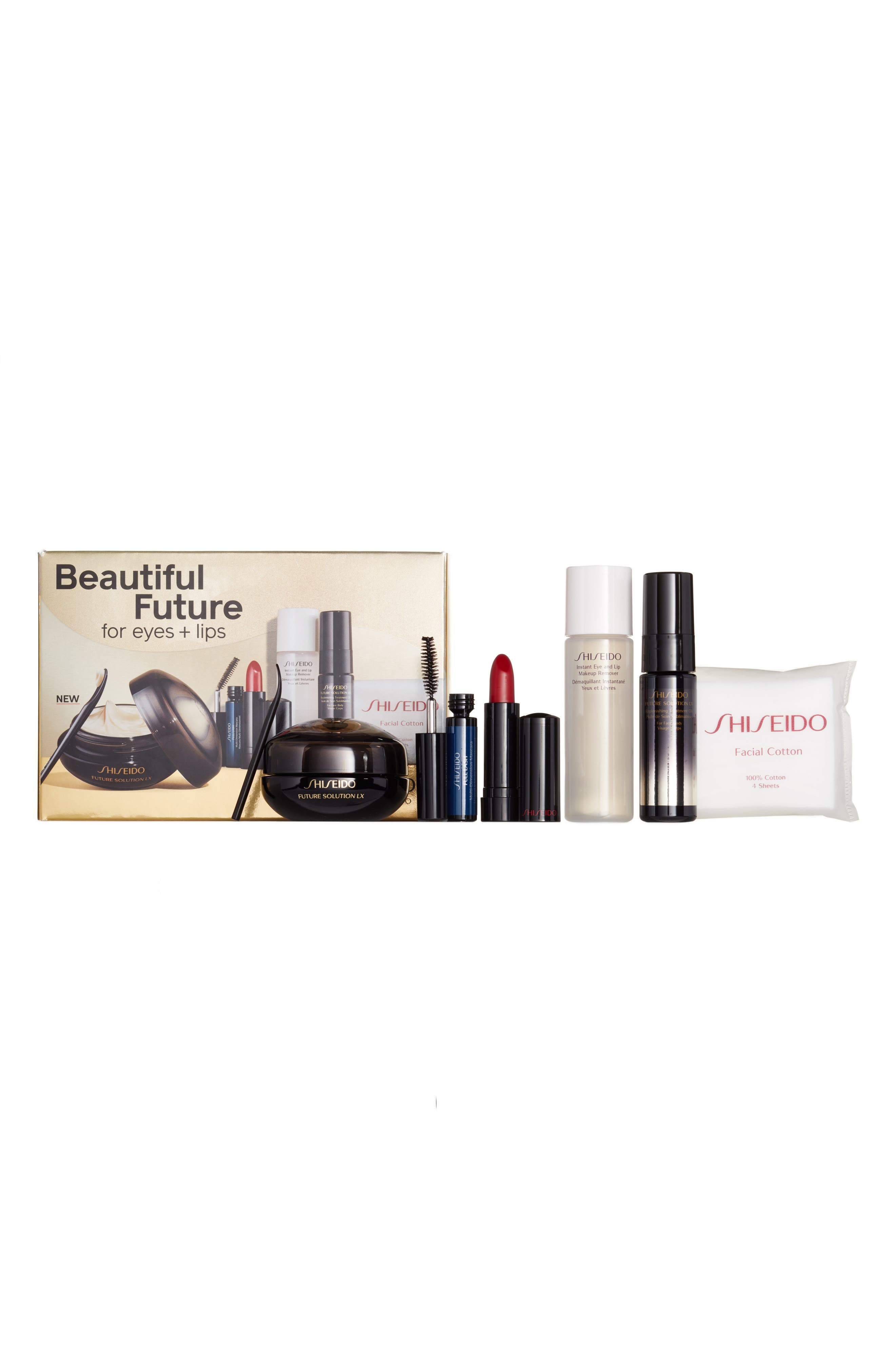 Main Image - Shiseido Beautiful Future for Eyes & Lips Collection ($216 Value)