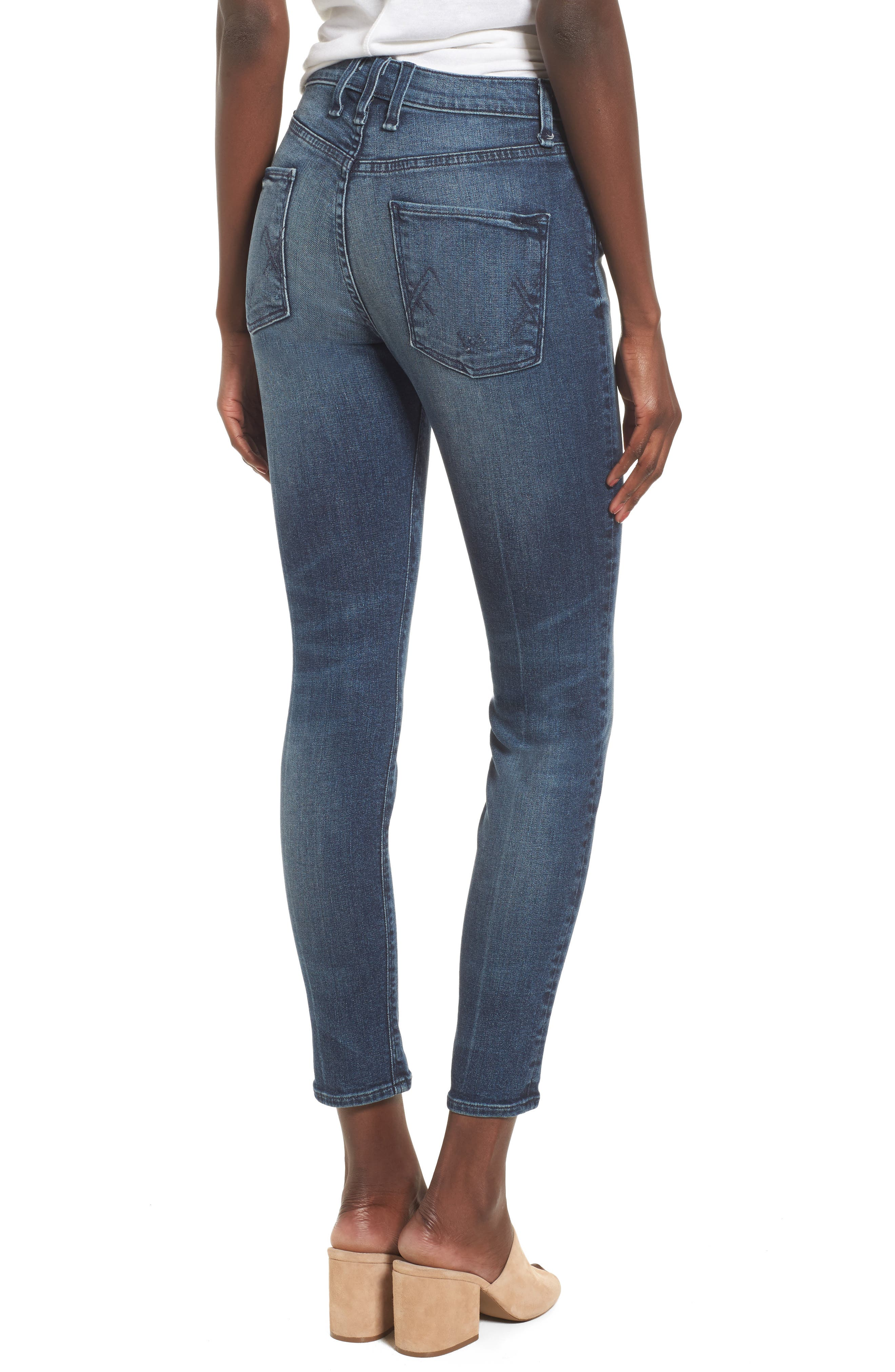 Alternate Image 2  - McGuire Newton High Waist Skinny Jeans (Isle in the Sky)