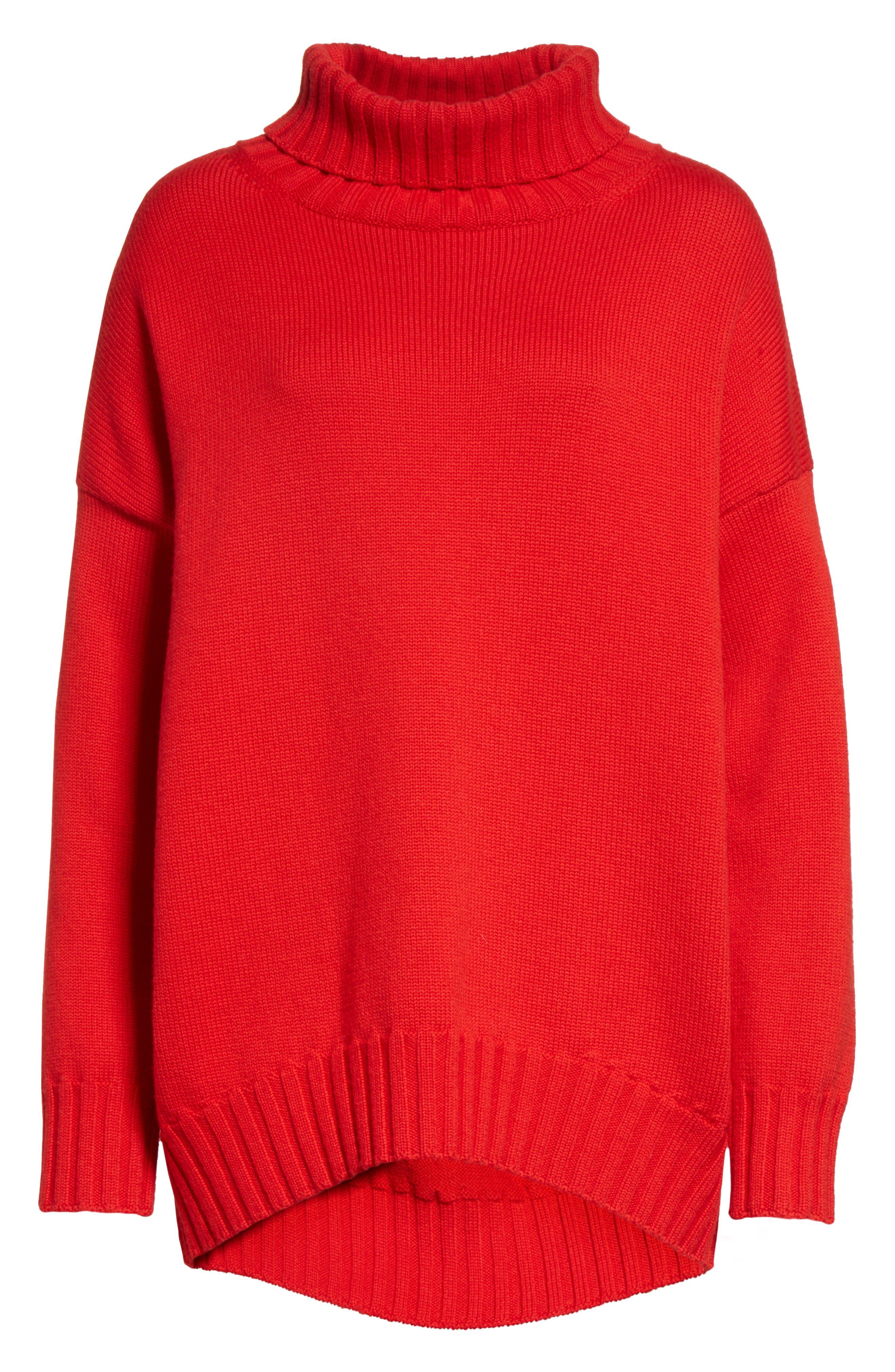 Alternate Image 4  - Oscar de la Renta Virgin Wool Turtleneck Sweater