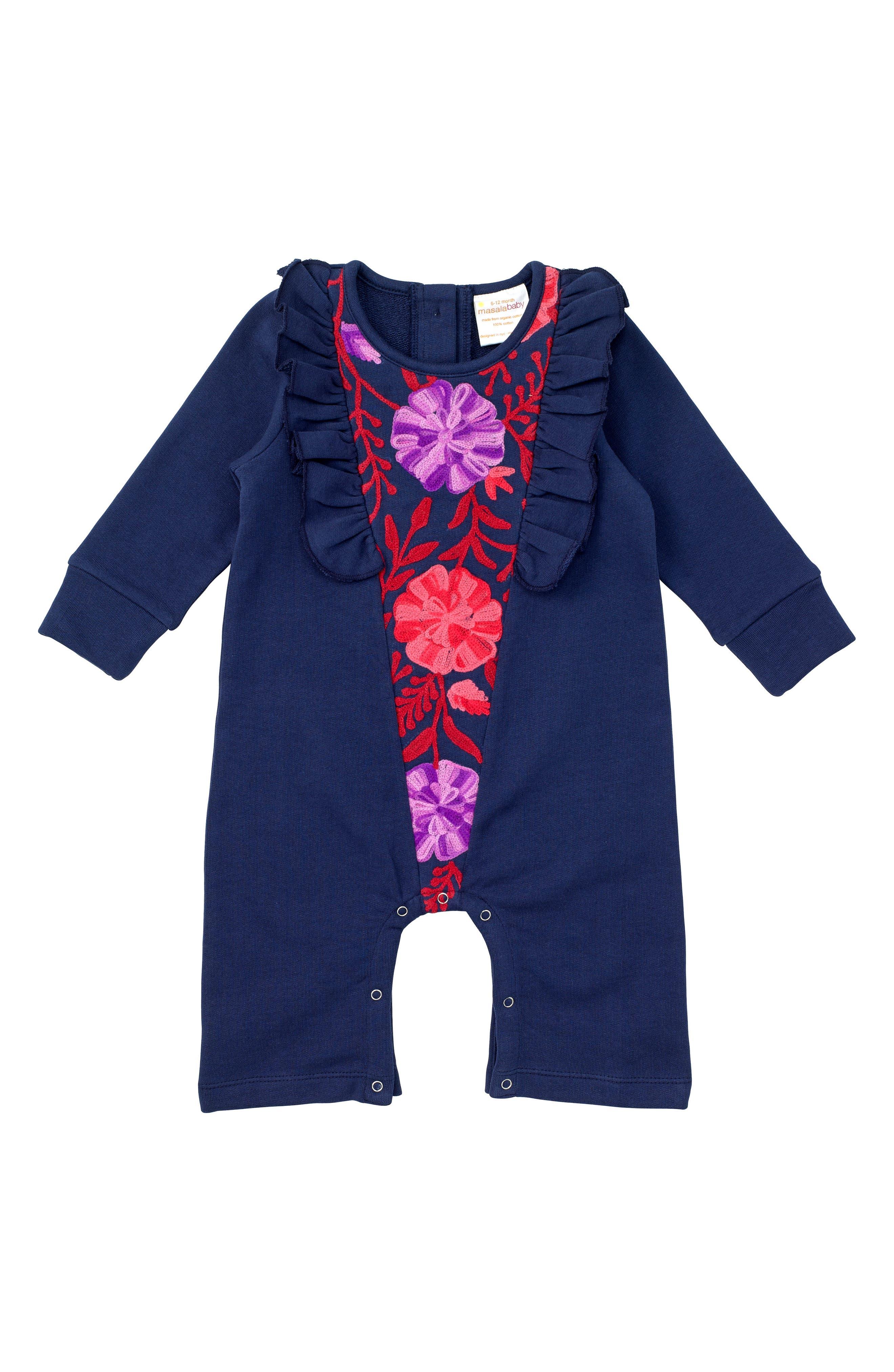 Masalababy Fantasia Organic Cotton Romper (Baby Girls)