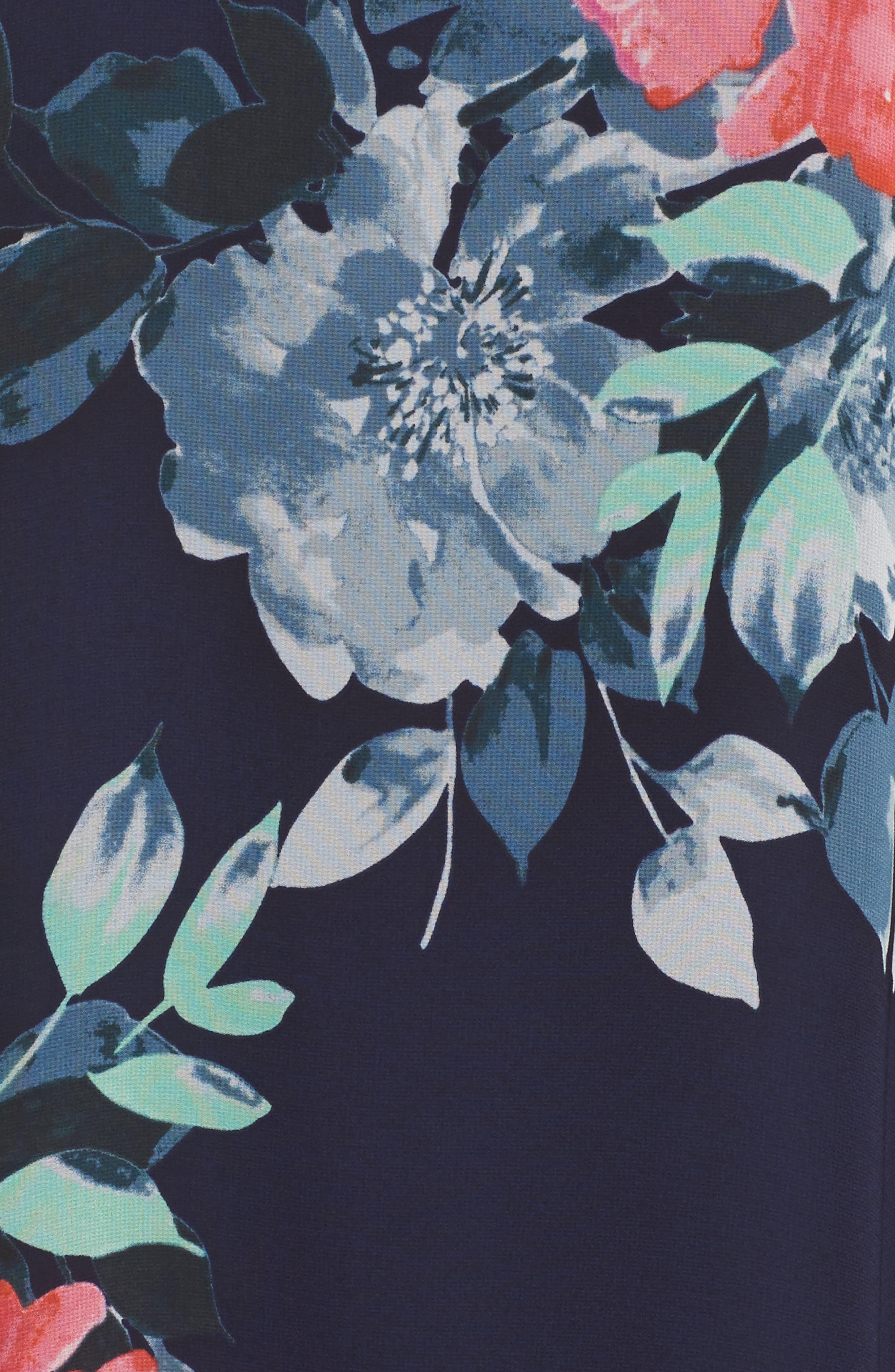 Alternate Image 5  - Eliza J Tiered Chiffon Shift Dress