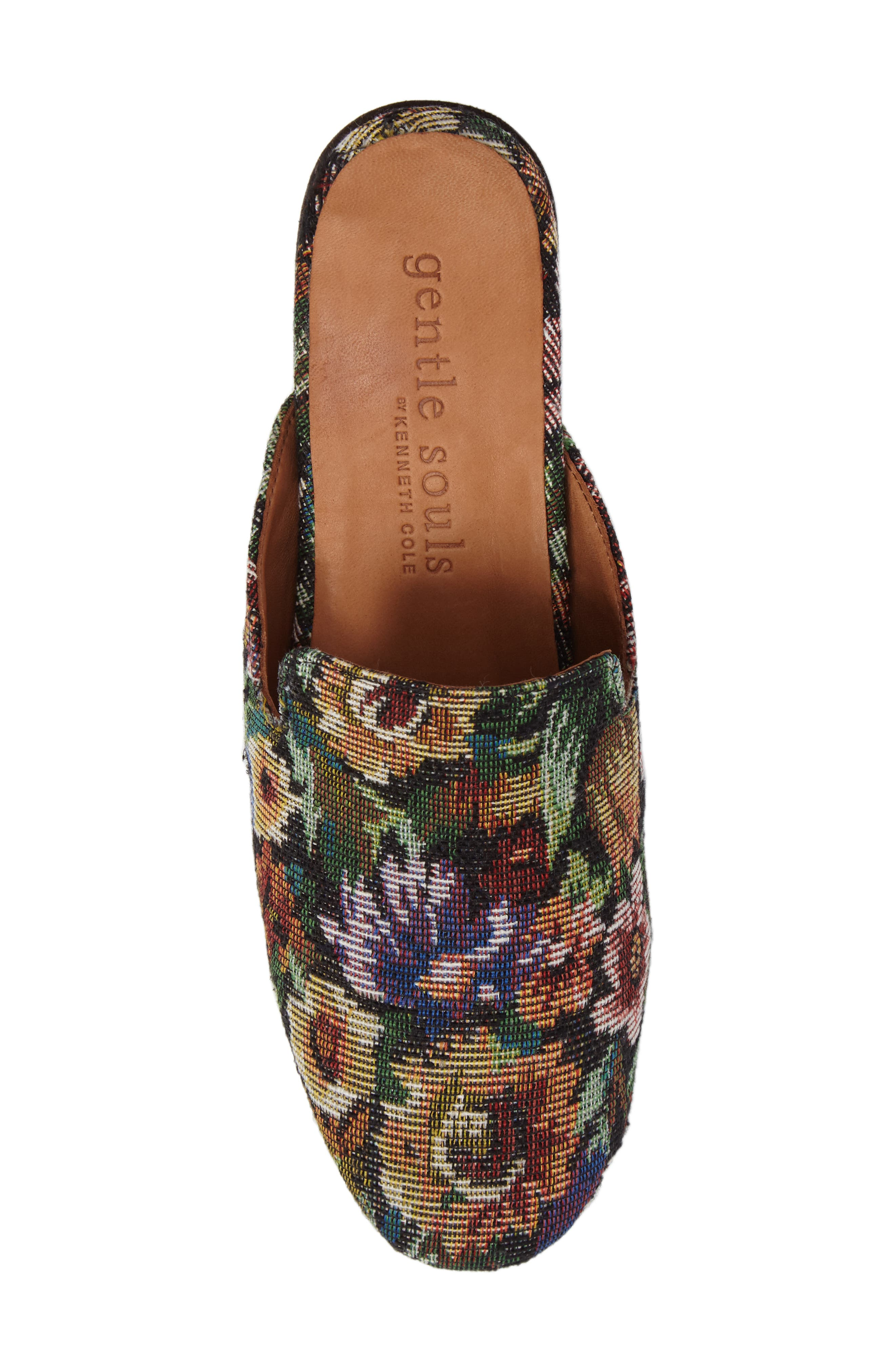 Eida Loafer Mule,                             Alternate thumbnail 5, color,                             Floral Fabric