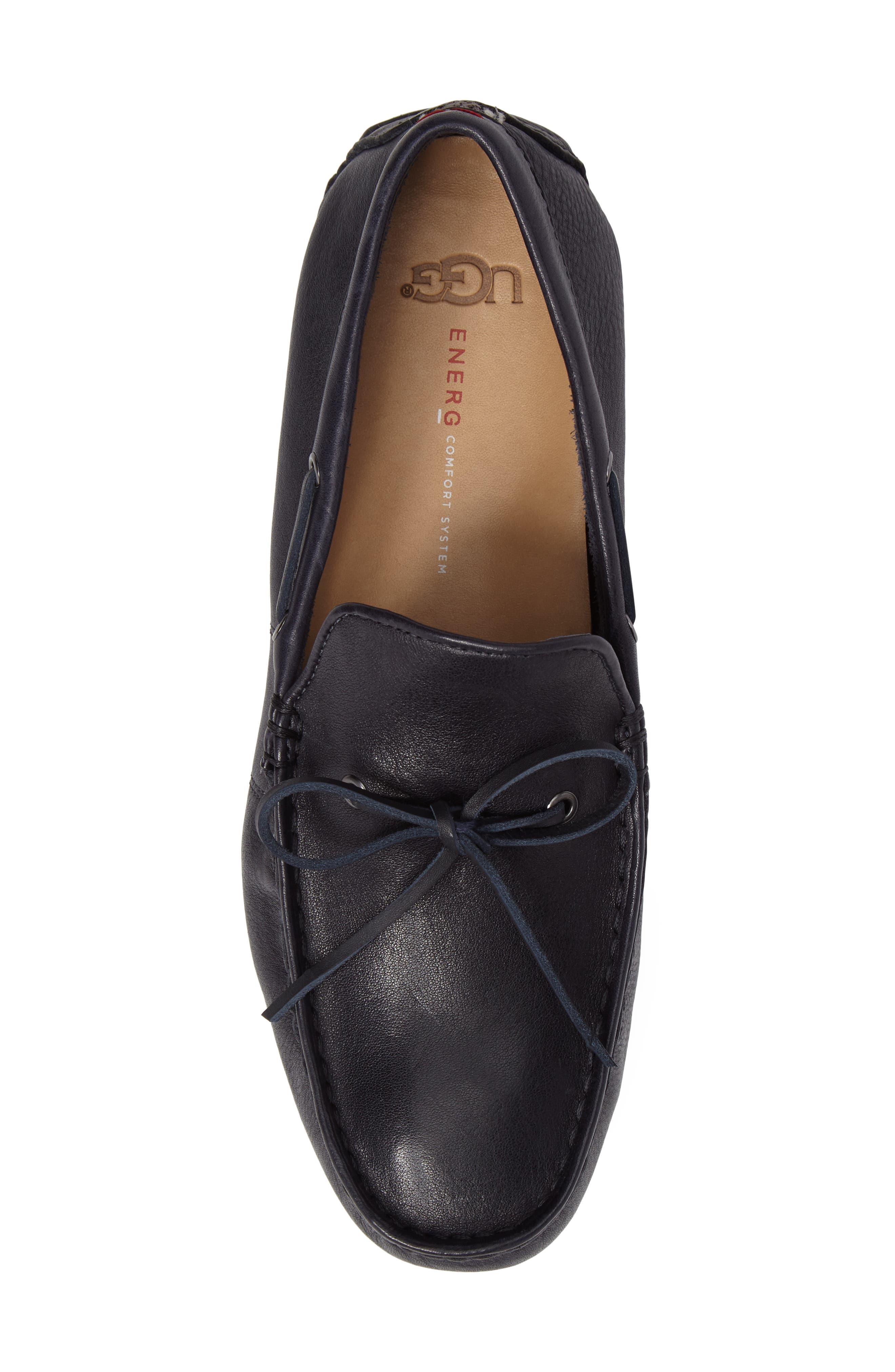 Alternate Image 5  - UGG® Everton Driving Shoe (Men)