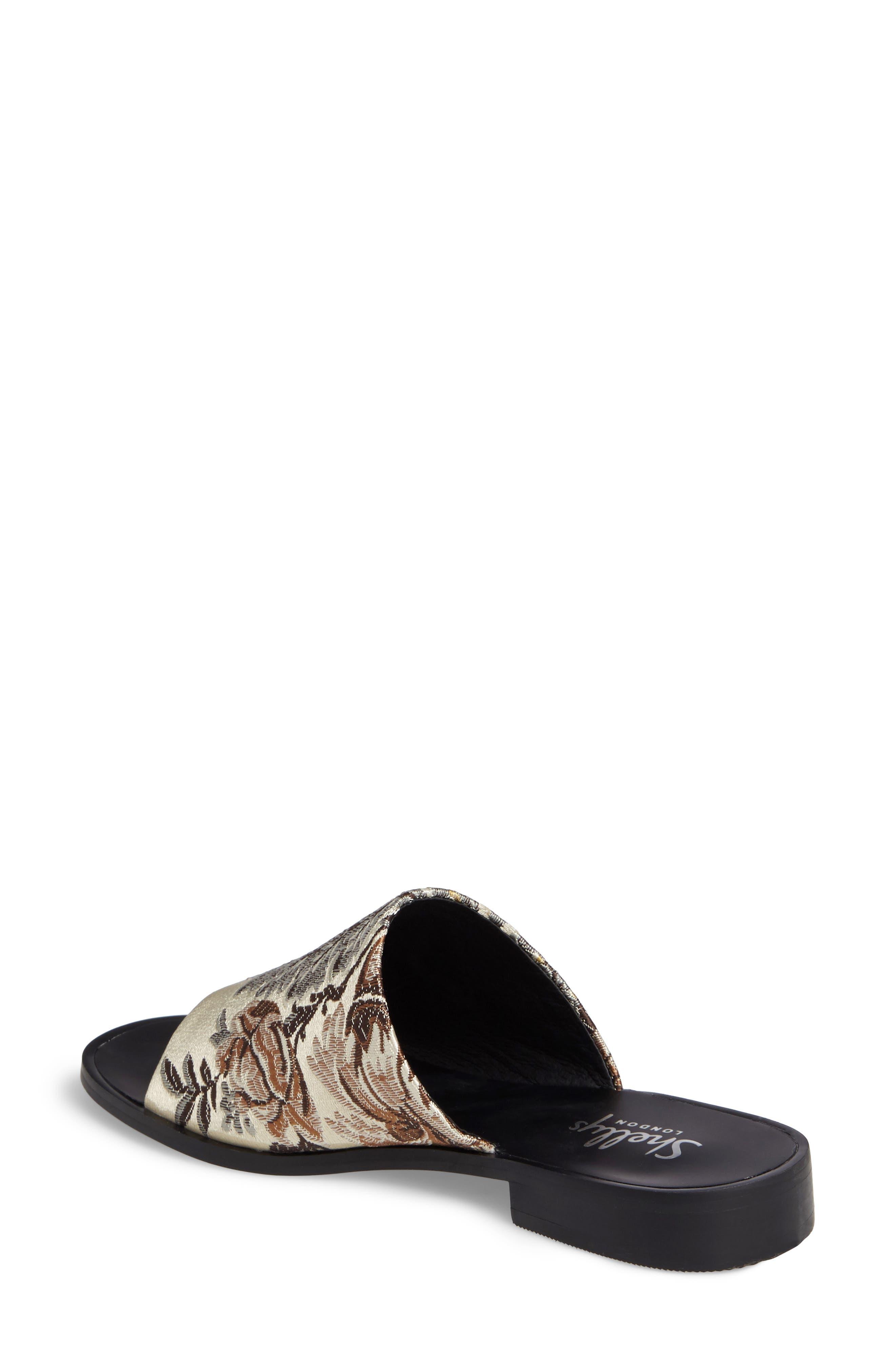 Alternate Image 2  - Shellys London Enya Brocade Slide Sandal (Women)