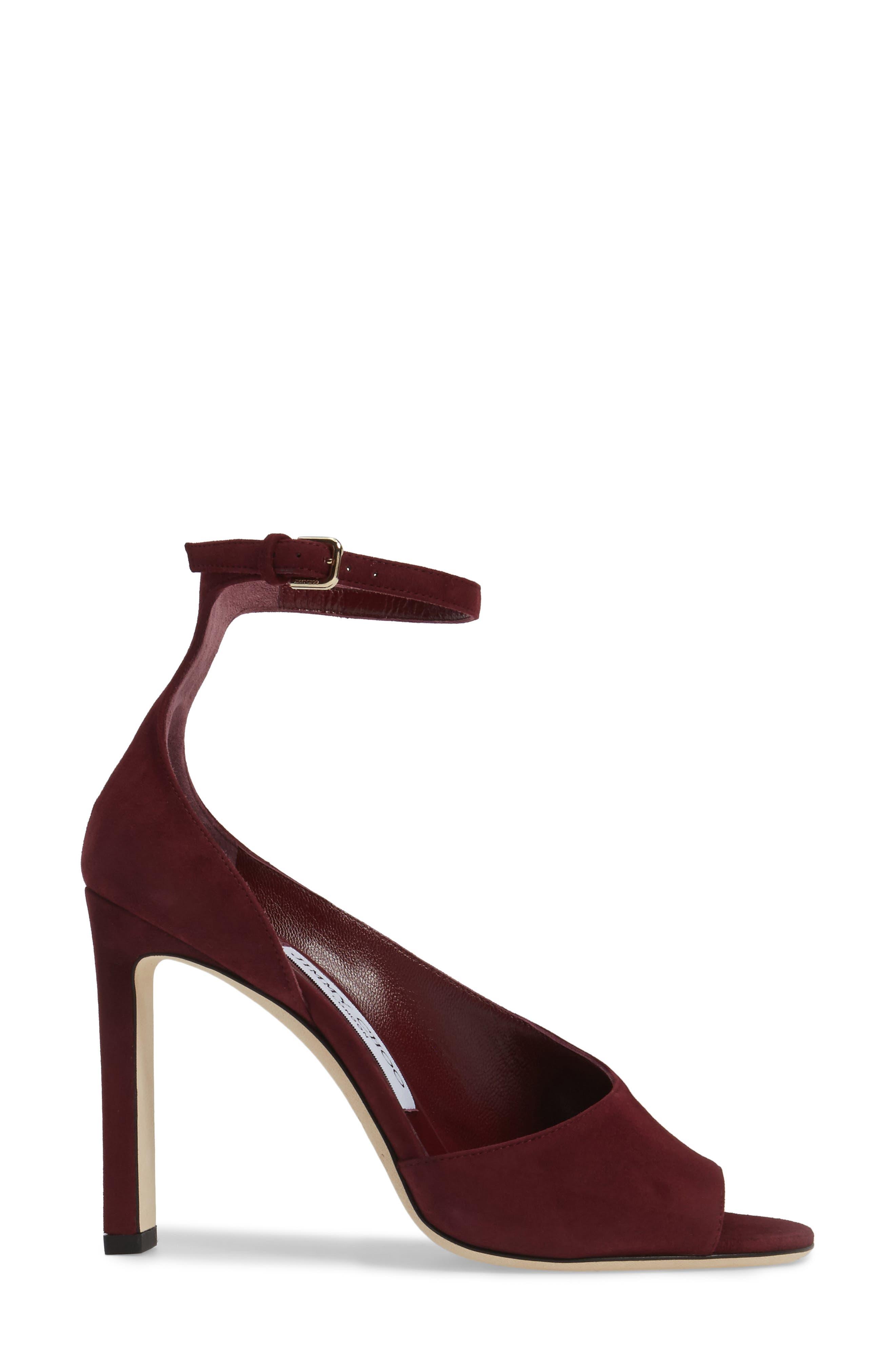 Alternate Image 3  - Jimmy Choo Theresa Ankle Strap Sandal (Women)
