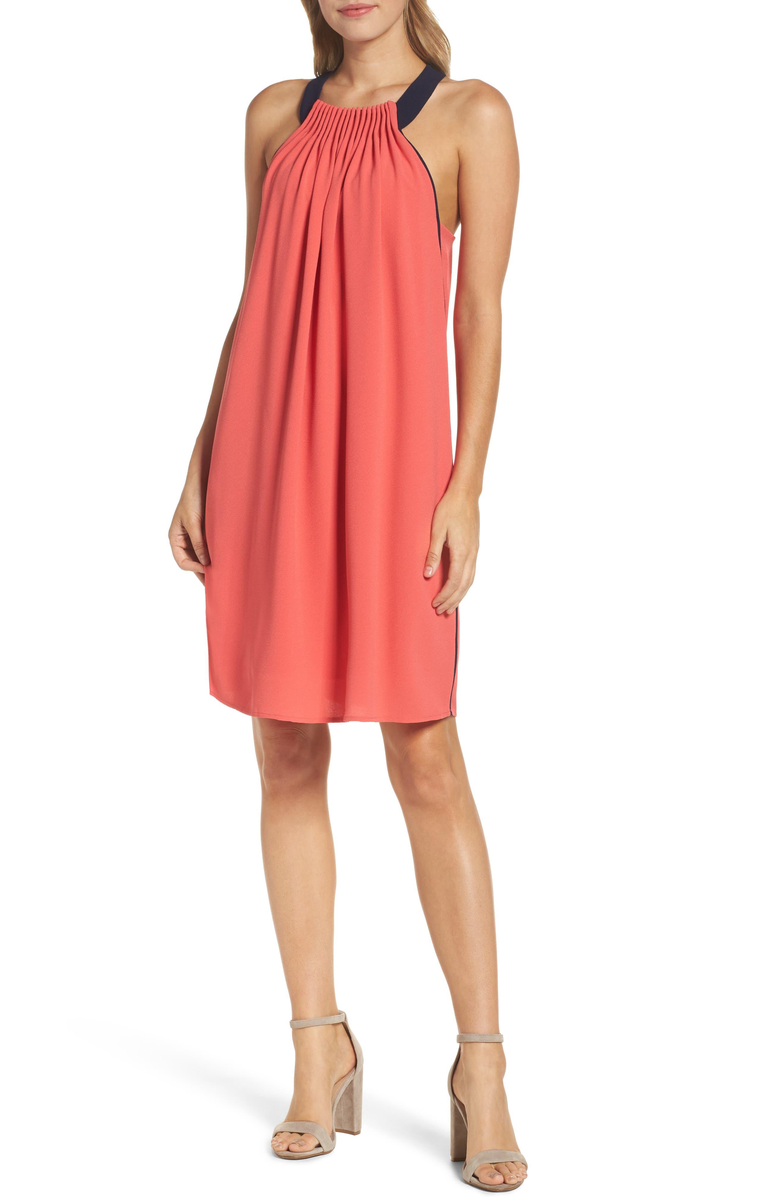 Felicity & Coco Halter Shift Dress (Regular & Petite) (Nordstrom Exclusive)