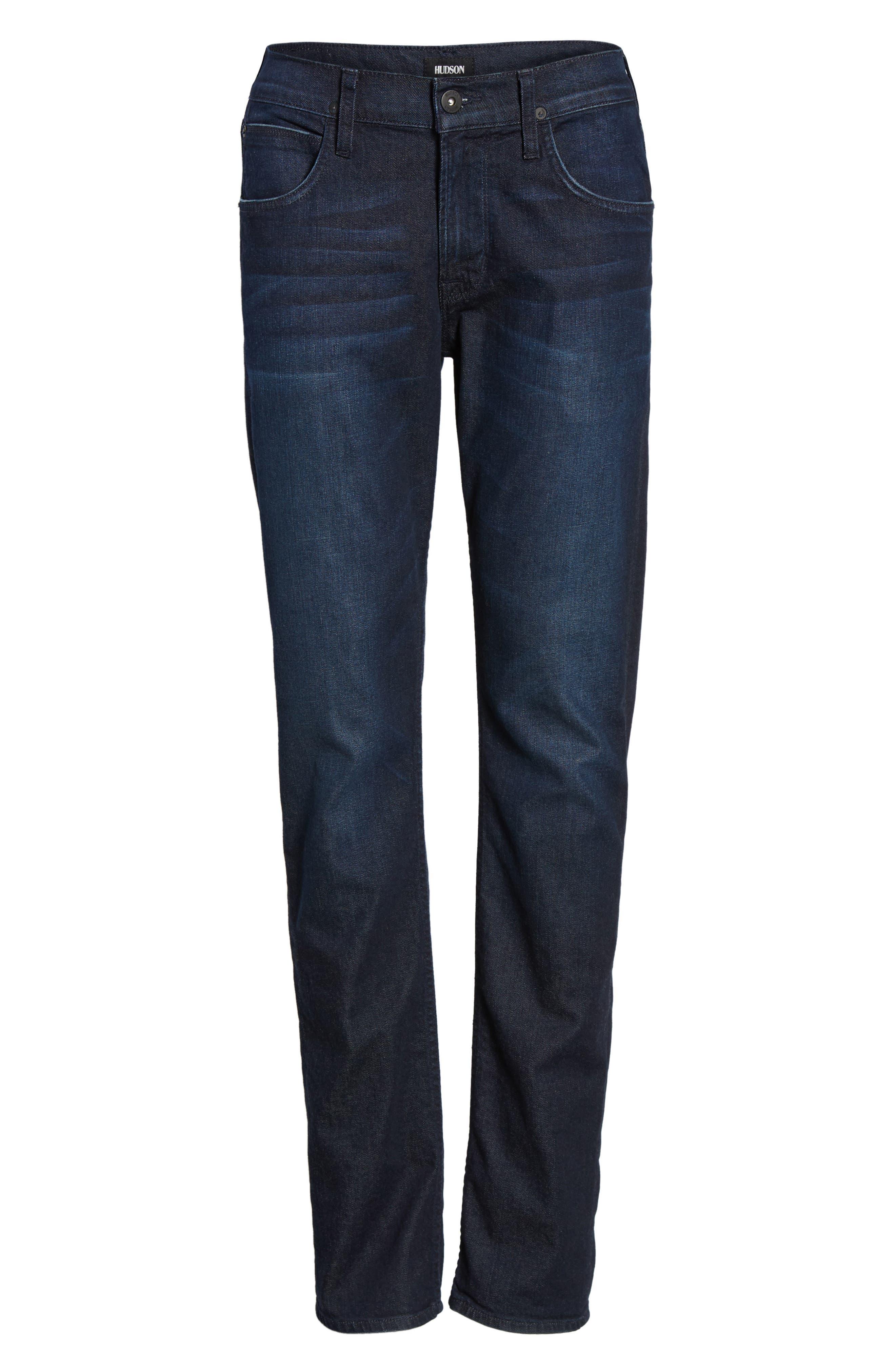 Alternate Image 6  - Hudson Jeans Byron Slim Straight Leg Jeans (Viral)