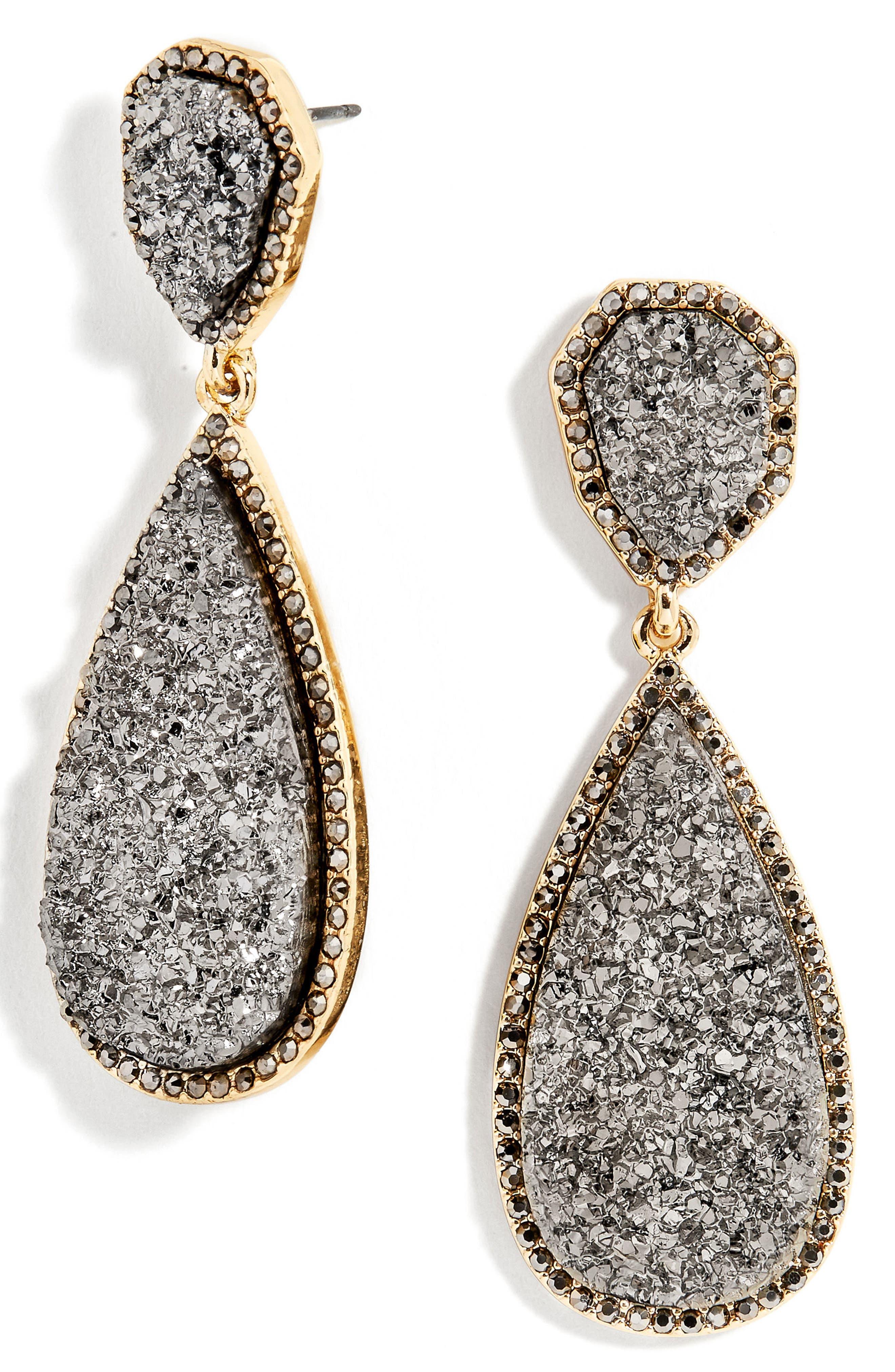 Alternate Image 1 Selected - BaubleBar Moonlight Drop Earrings