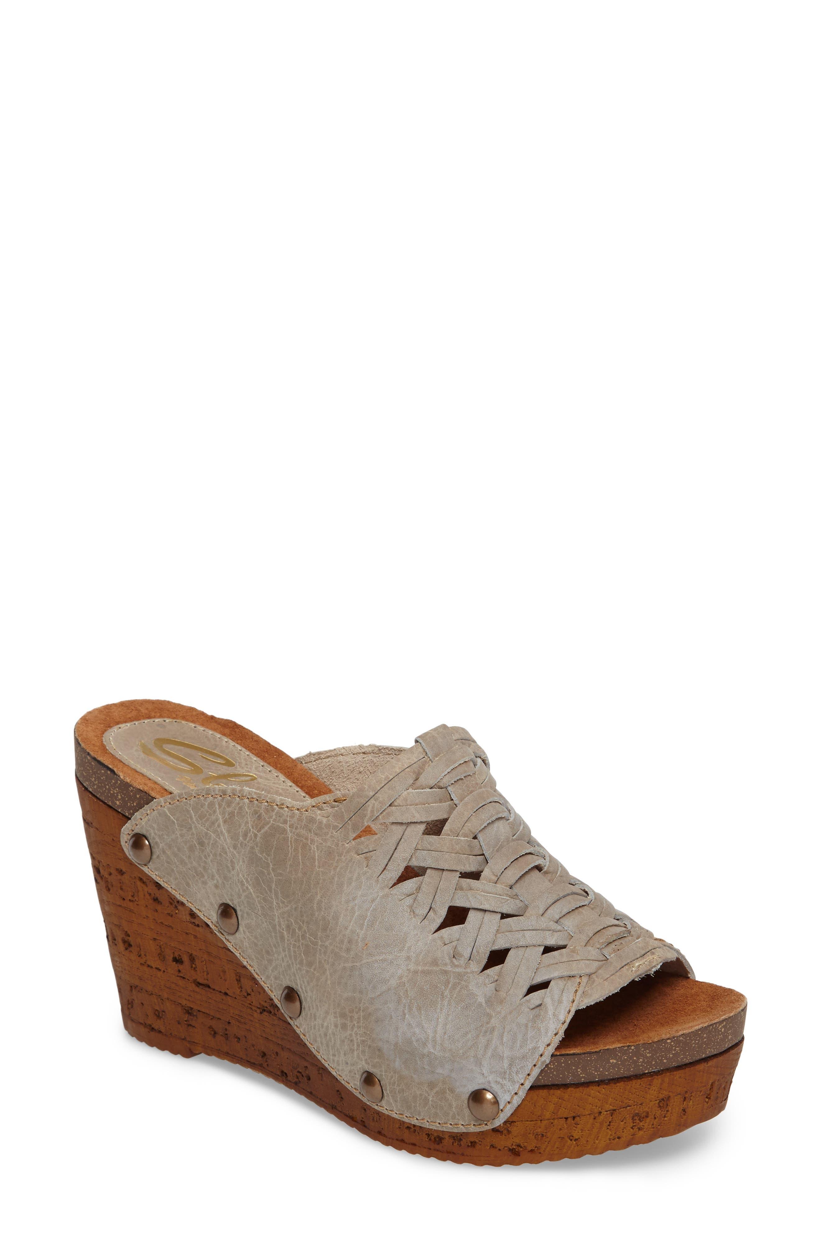 Alternate Image 1 Selected - Sbicca Genesis Platform Wedge Sandal (Women)