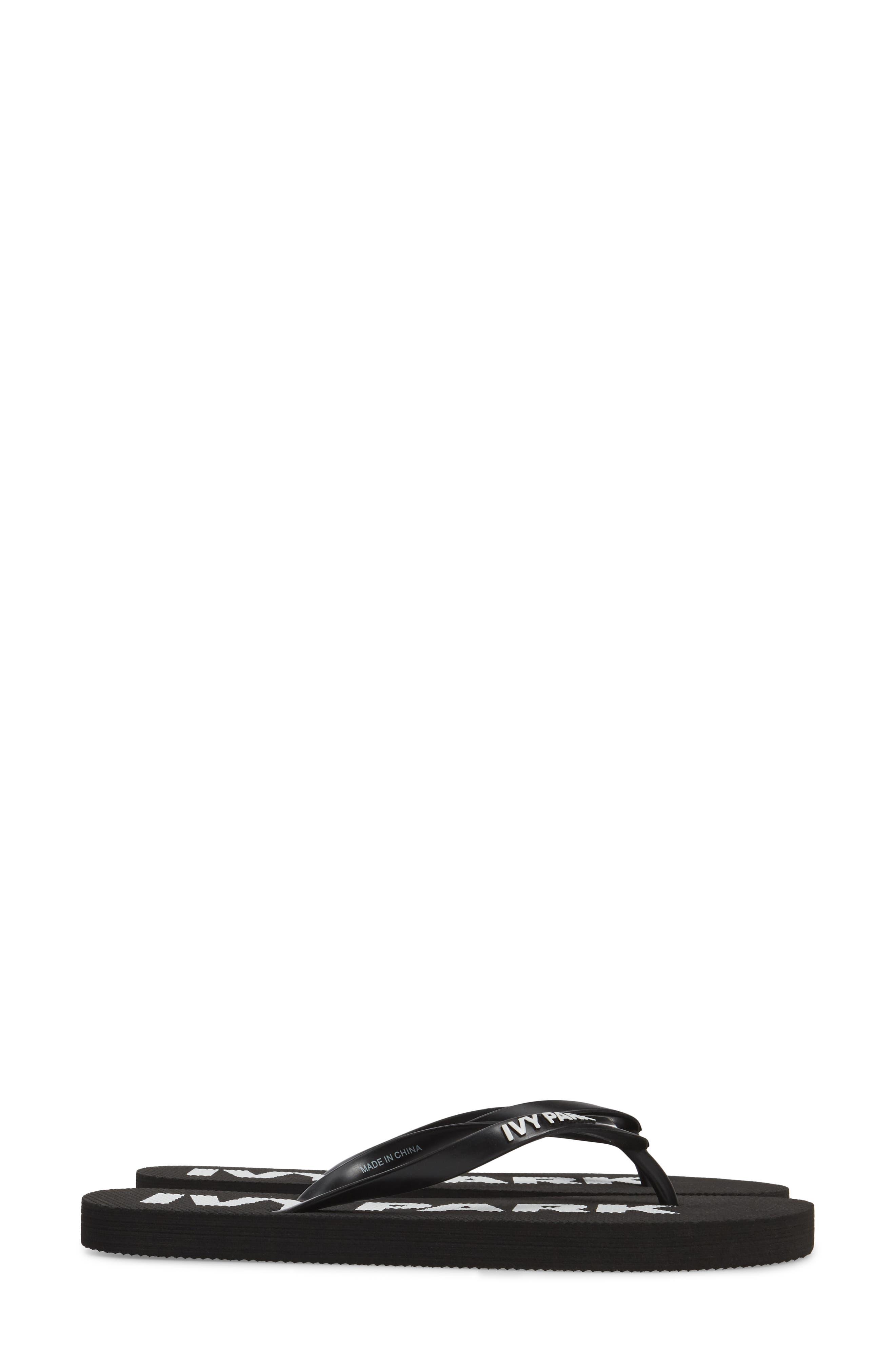 Alternate Image 4  - IVY PARK® Logo Flip Flops (Women)