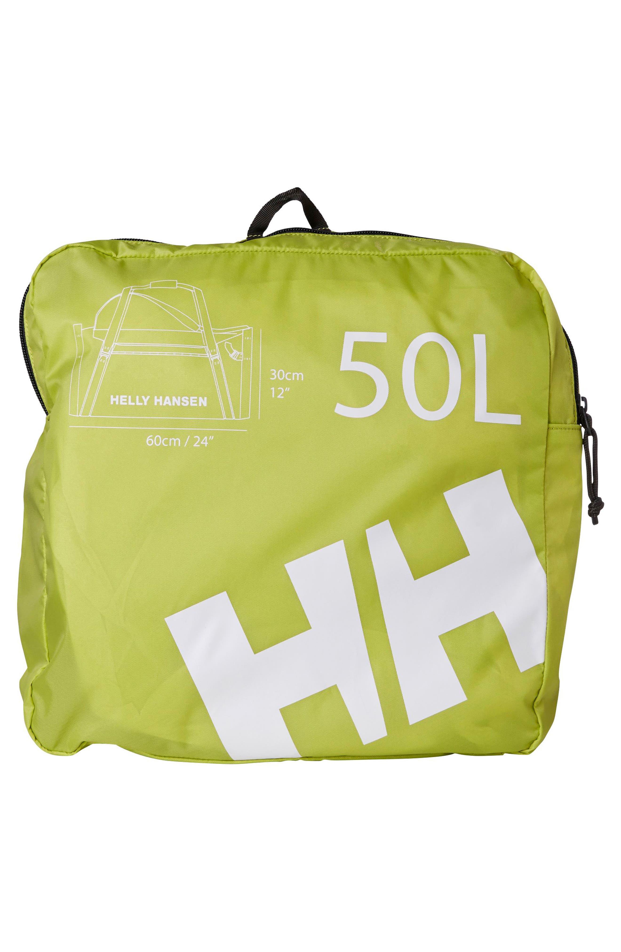 50-Liter Duffel Bag,                             Alternate thumbnail 2, color,                             Black