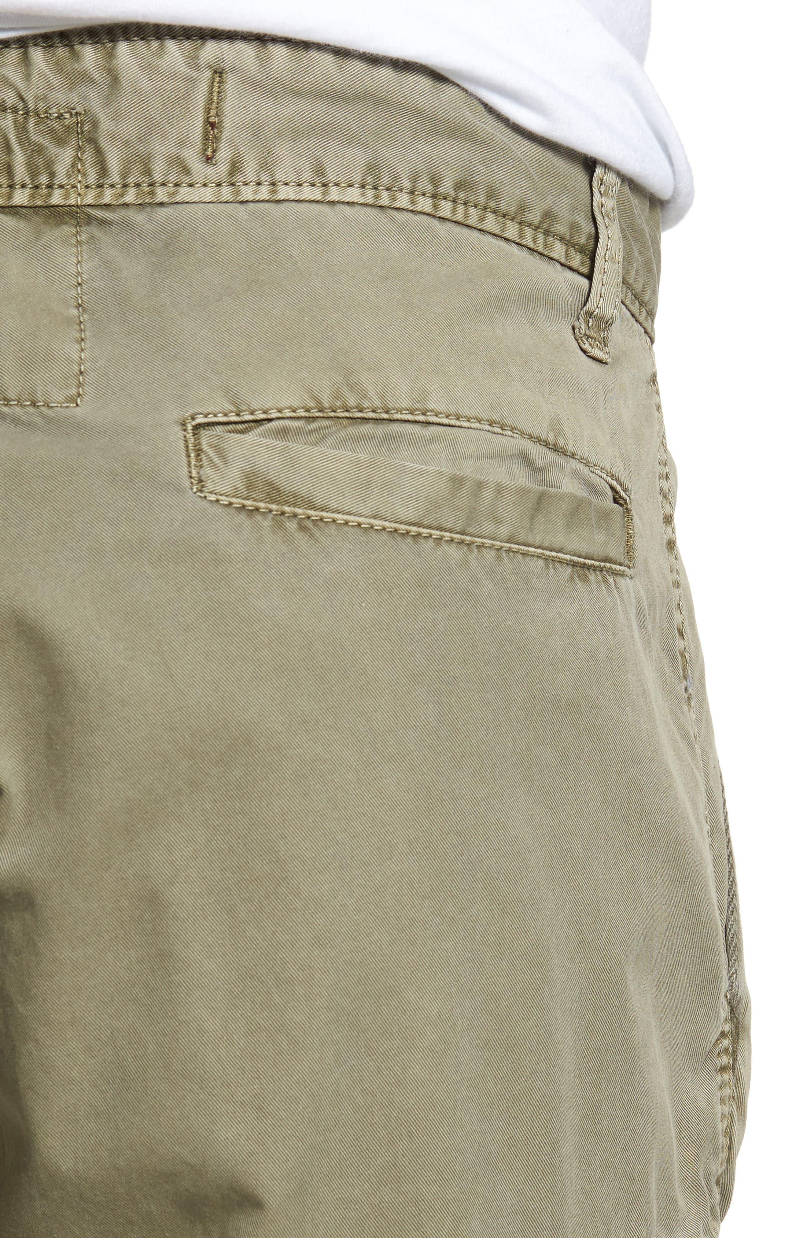 'Newport' Cargo Shorts,                             Alternate thumbnail 4, color,                             Olive