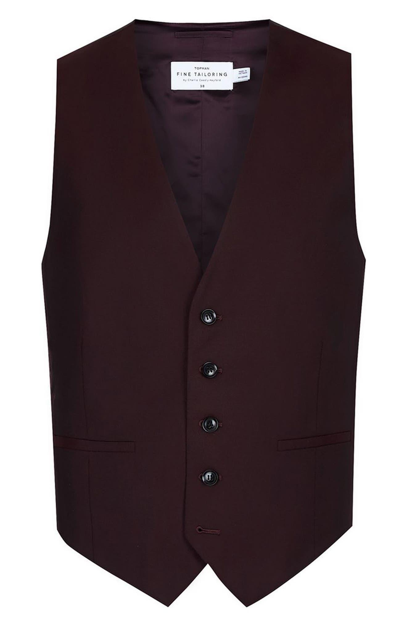 Alternate Image 6  - Charlie Casely-Hayford x Topman Skinny Fit Vest