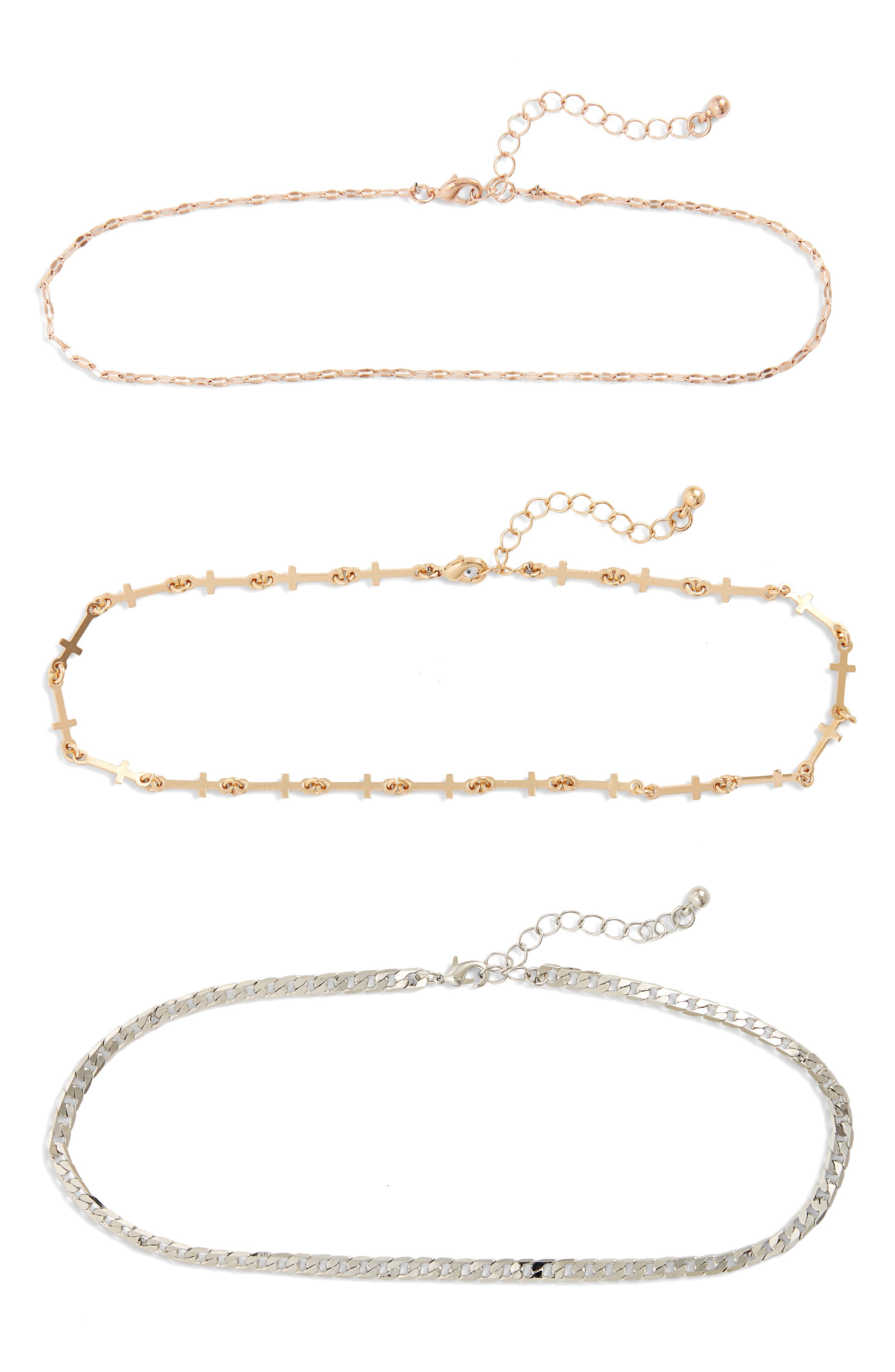 BP. Set of 3 Assorted Chokers