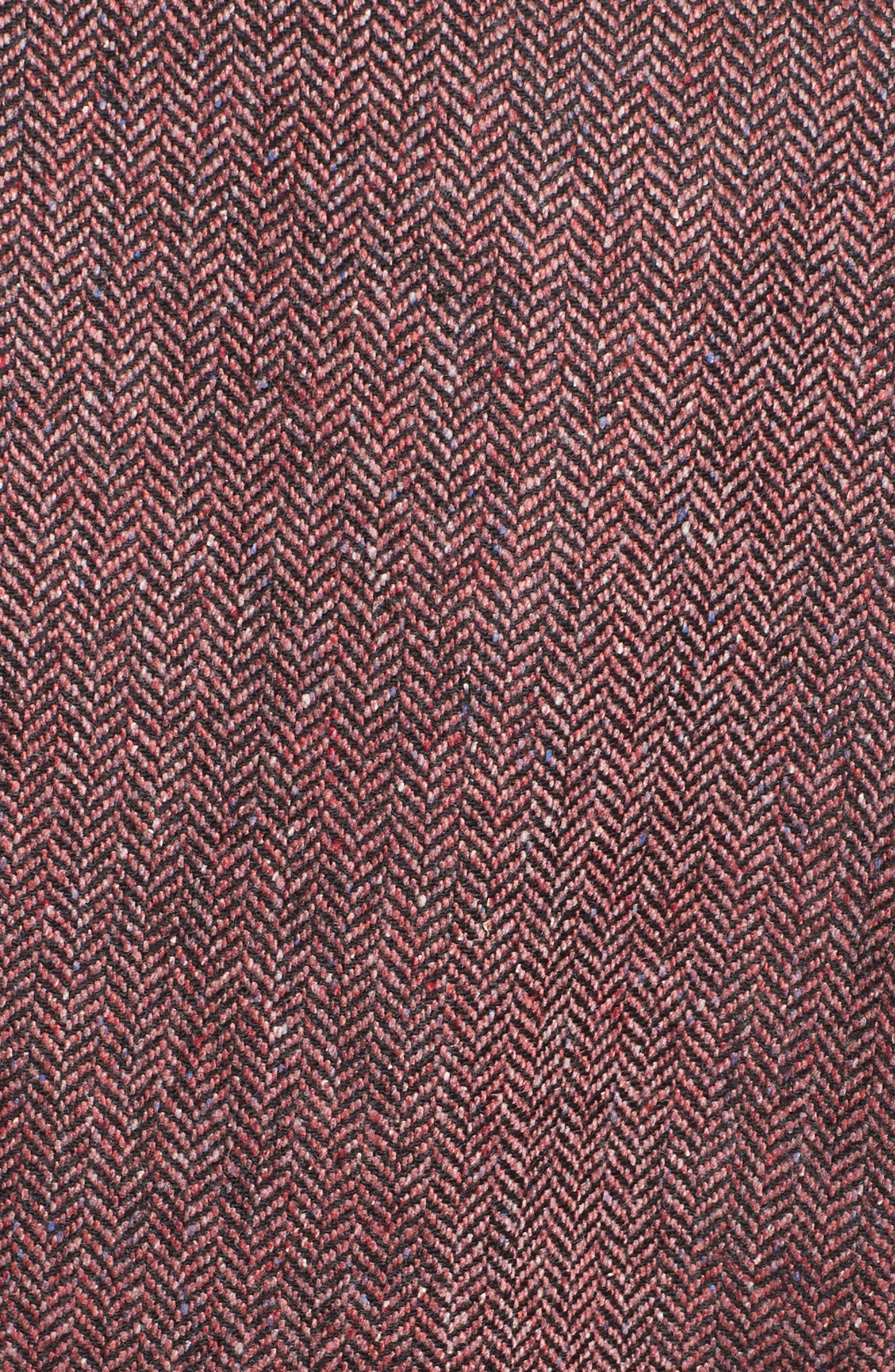 Sterling Grosgrain Trim Jacket,                             Alternate thumbnail 5, color,                             Rose