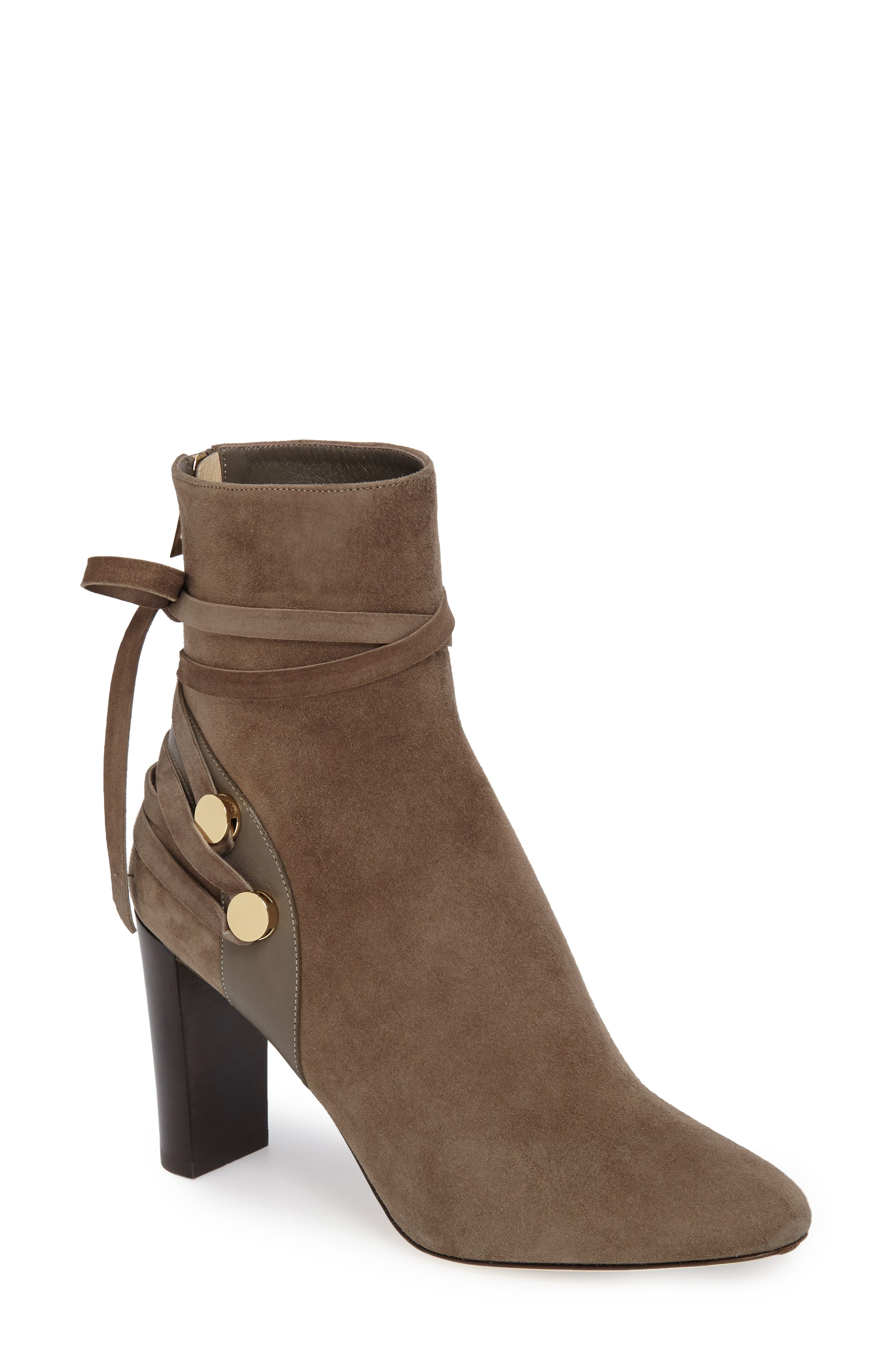 Jimmy Choo Houston Lace-Up Bootie (Women)