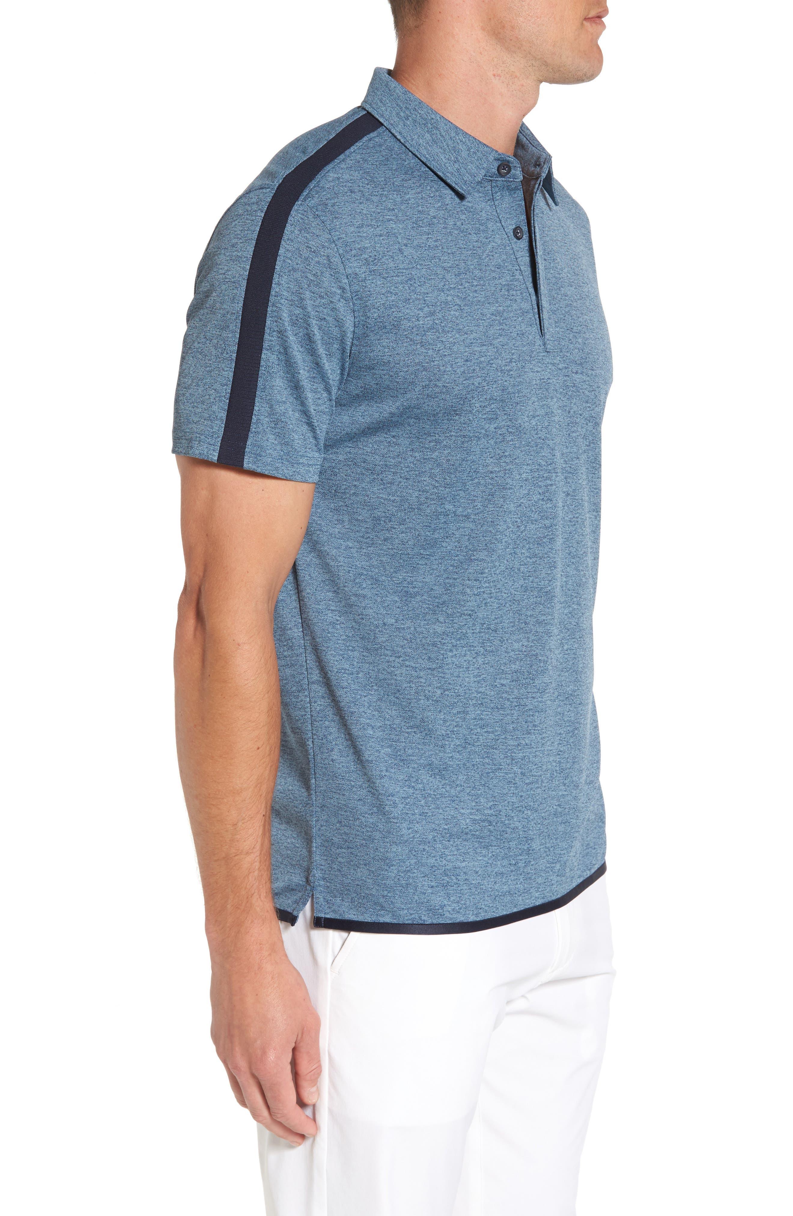 Alternate Image 3  - AG Felton Shoulder Stripe Polo