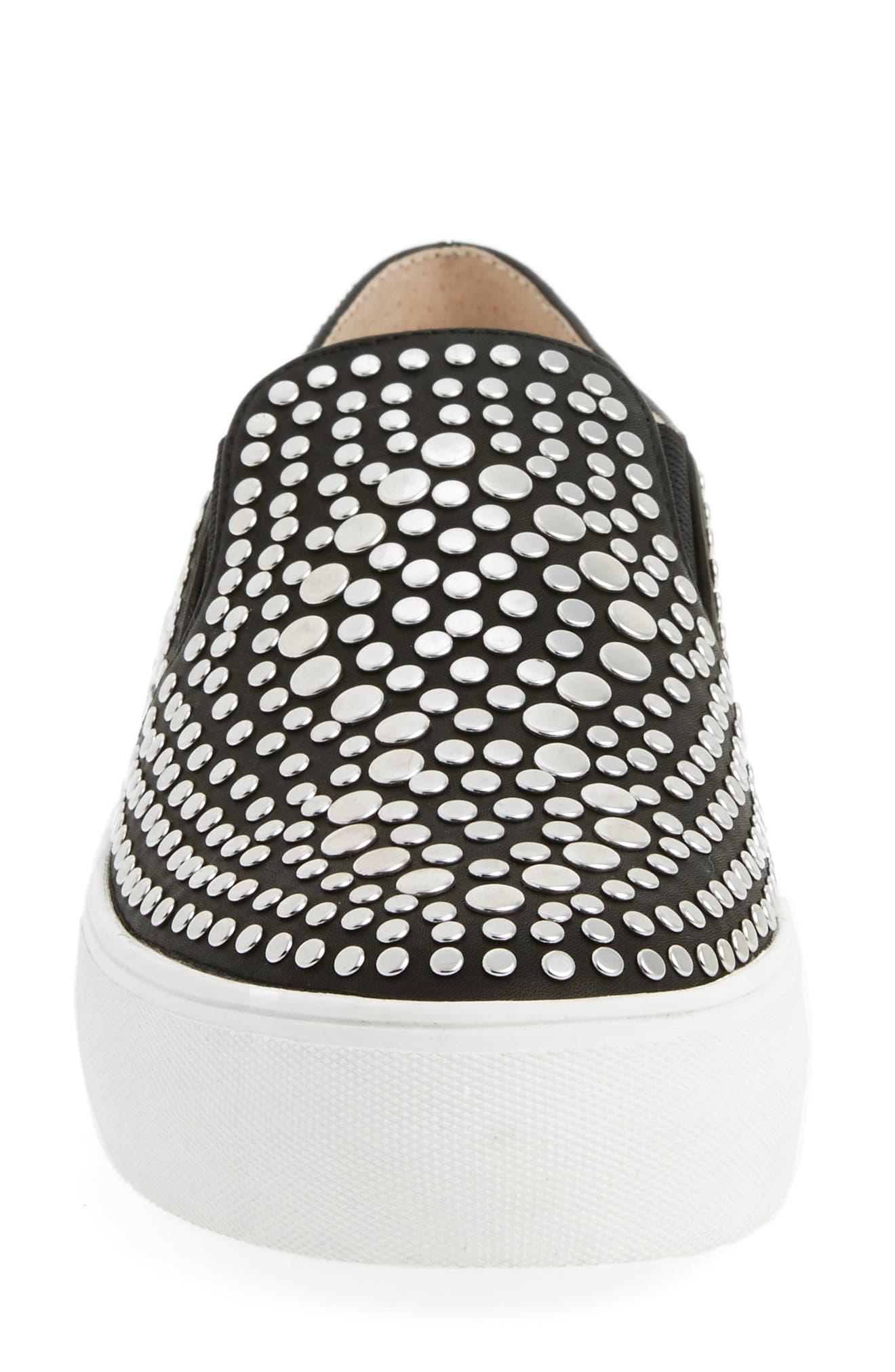 Alternate Image 4  - Vince Camuto Kindra Studded Slip-On Sneaker (Women)