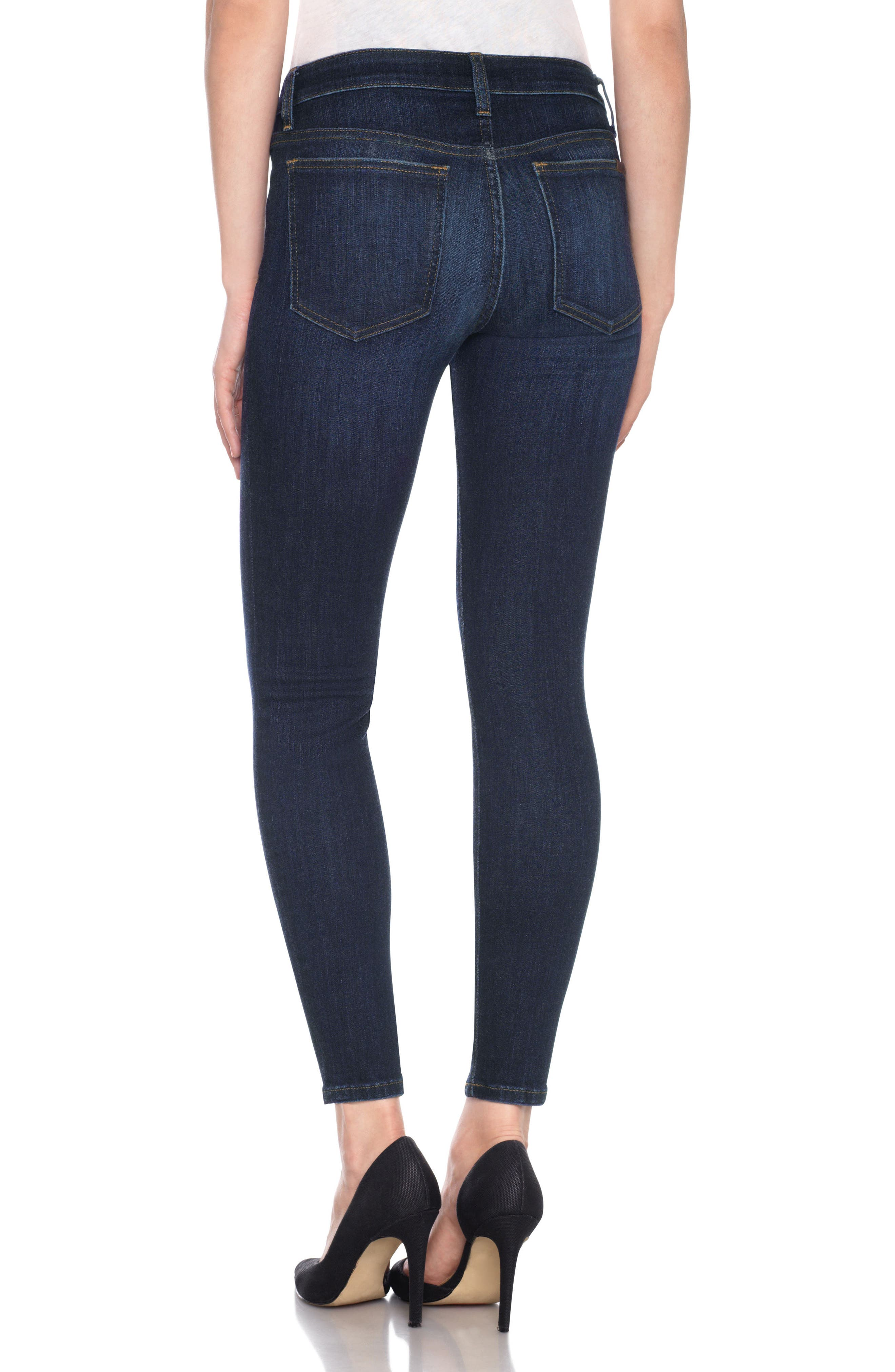 Flawless - Icon Ankle Skinny Jeans,                             Alternate thumbnail 2, color,                             Nurie
