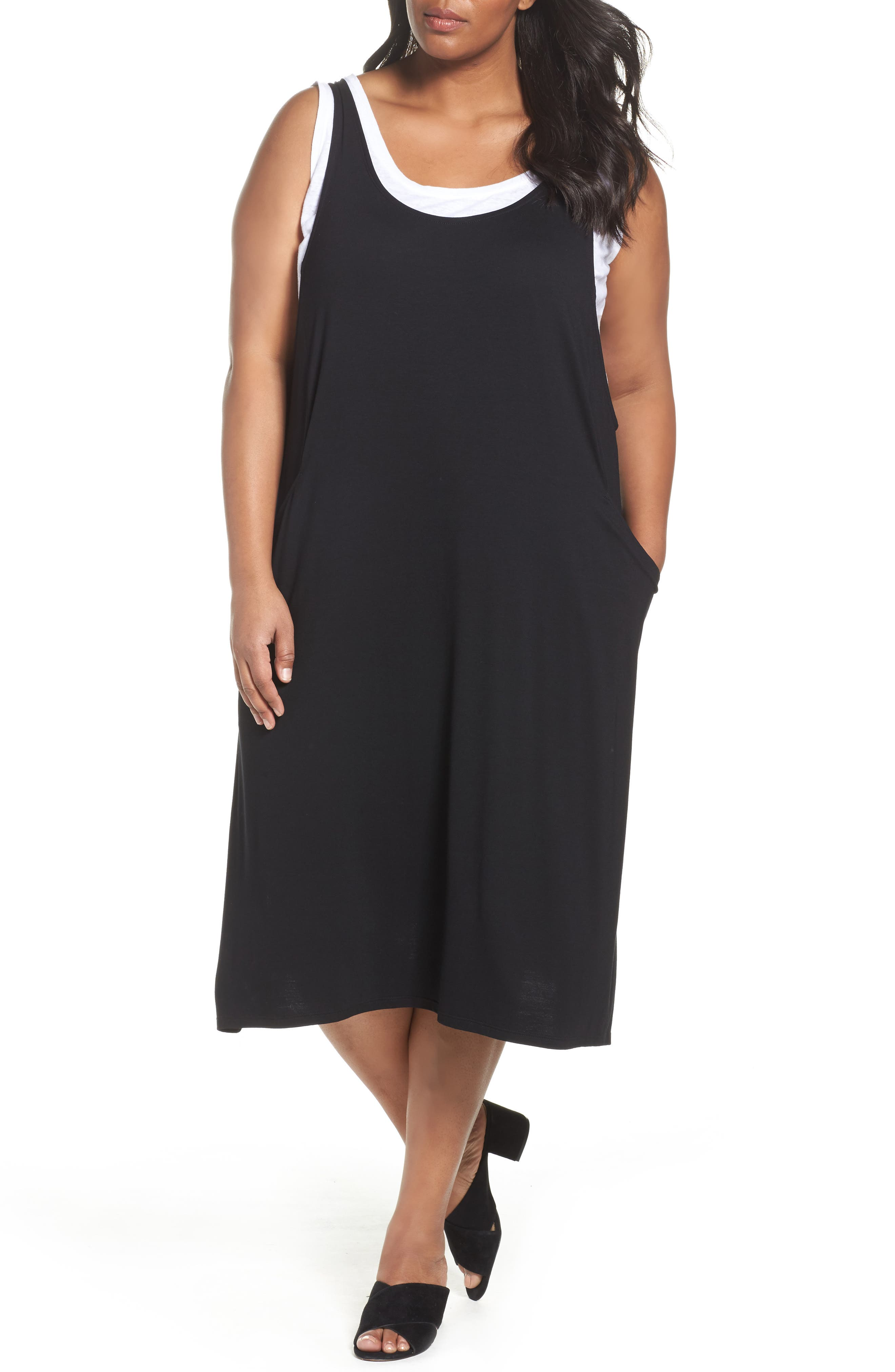 Eileen Fisher Jersey Jumper (Plus Size)