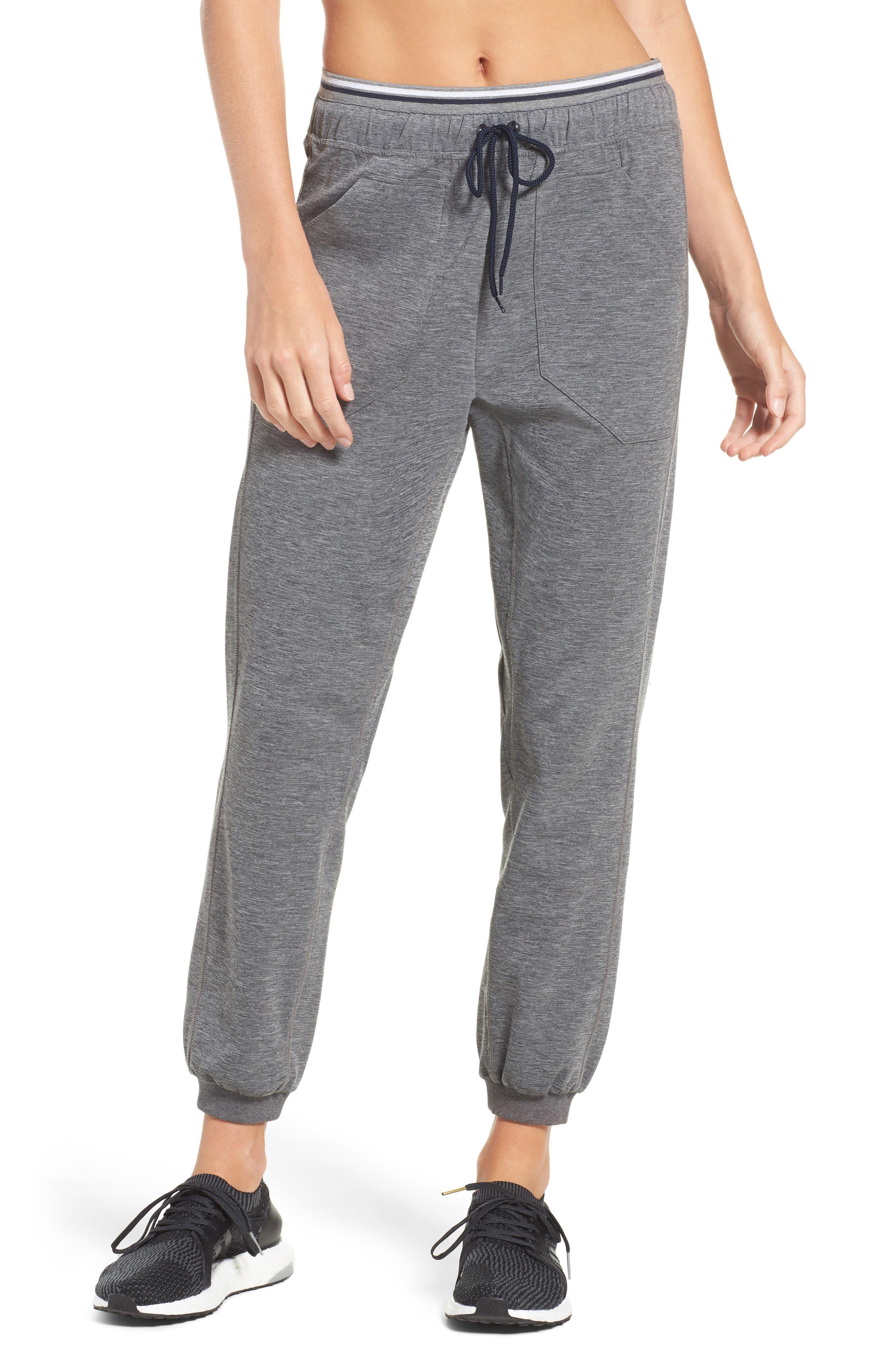Circuit Track Pants,                         Main,                         color, Grey Marl