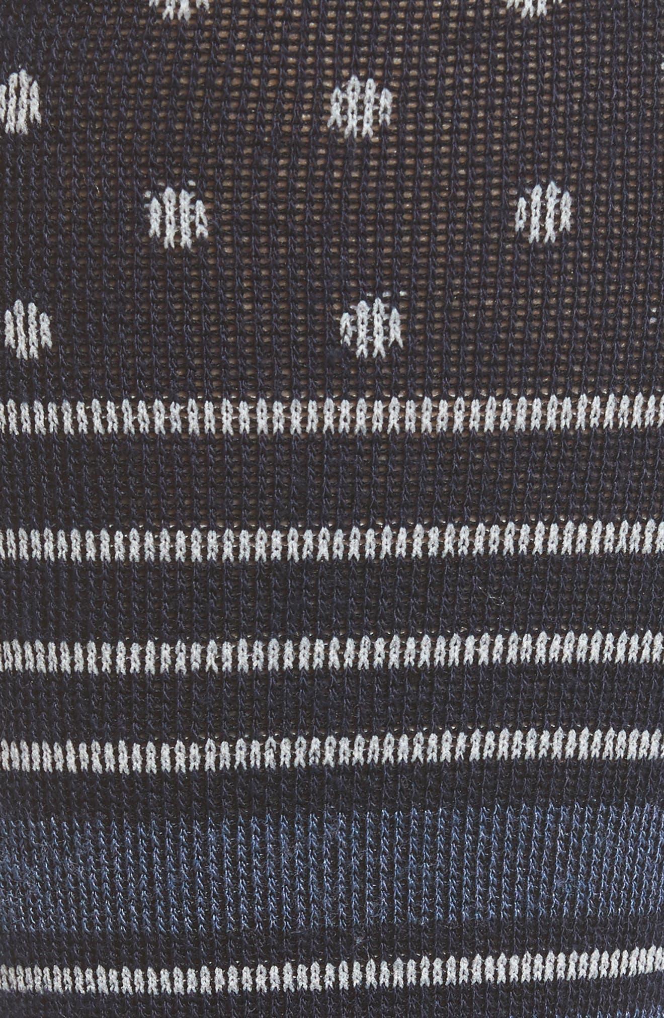 Alternate Image 2  - Sockwell 'Twister' Merino Wool Blend Compression Socks