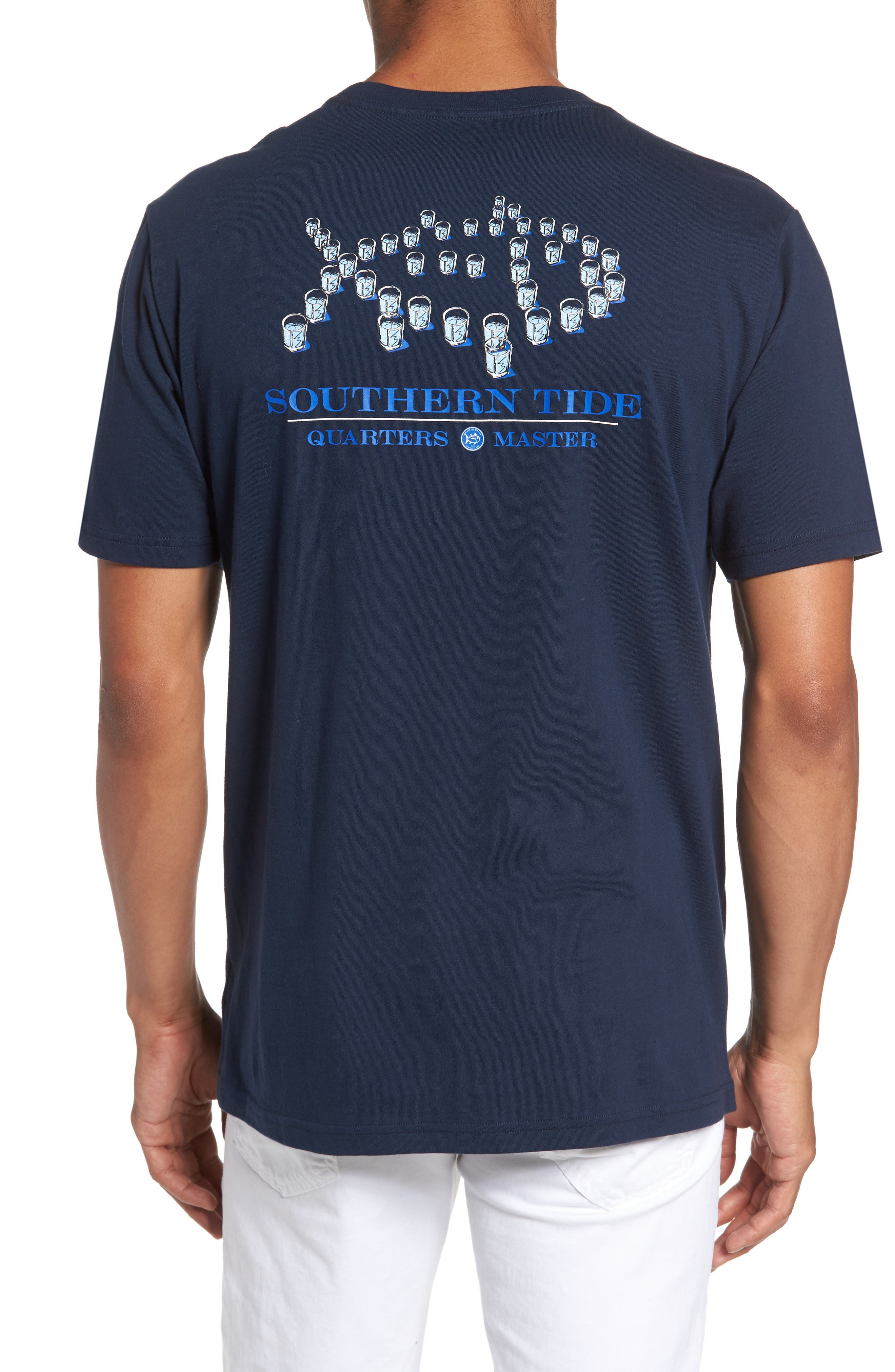 Alternate Image 2  - Southern Tide Classic Fit Quarters Master T-Shirt