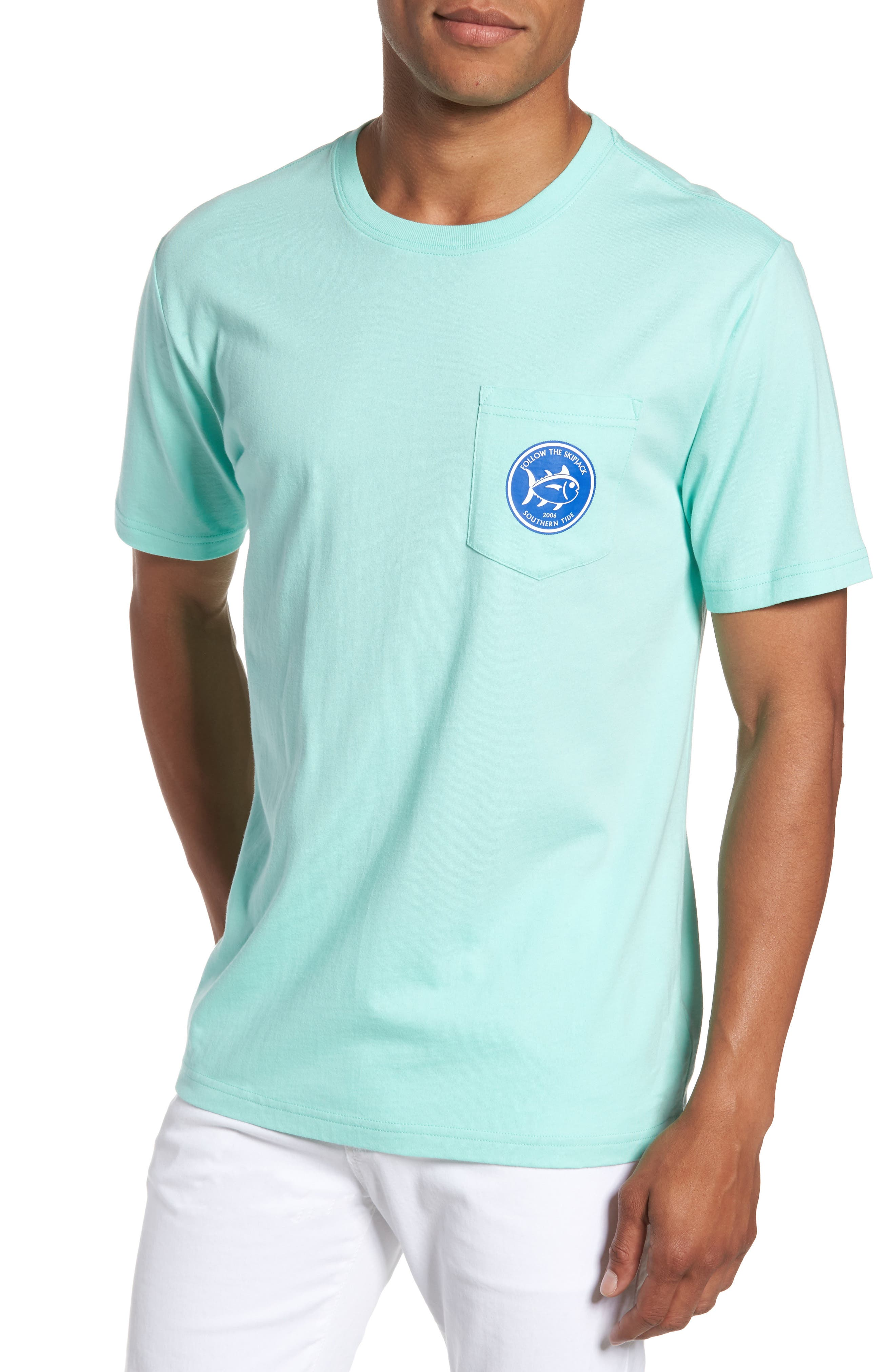 Alternate Image 1 Selected - Southern Tide Classic Fit Quarters Master T-Shirt