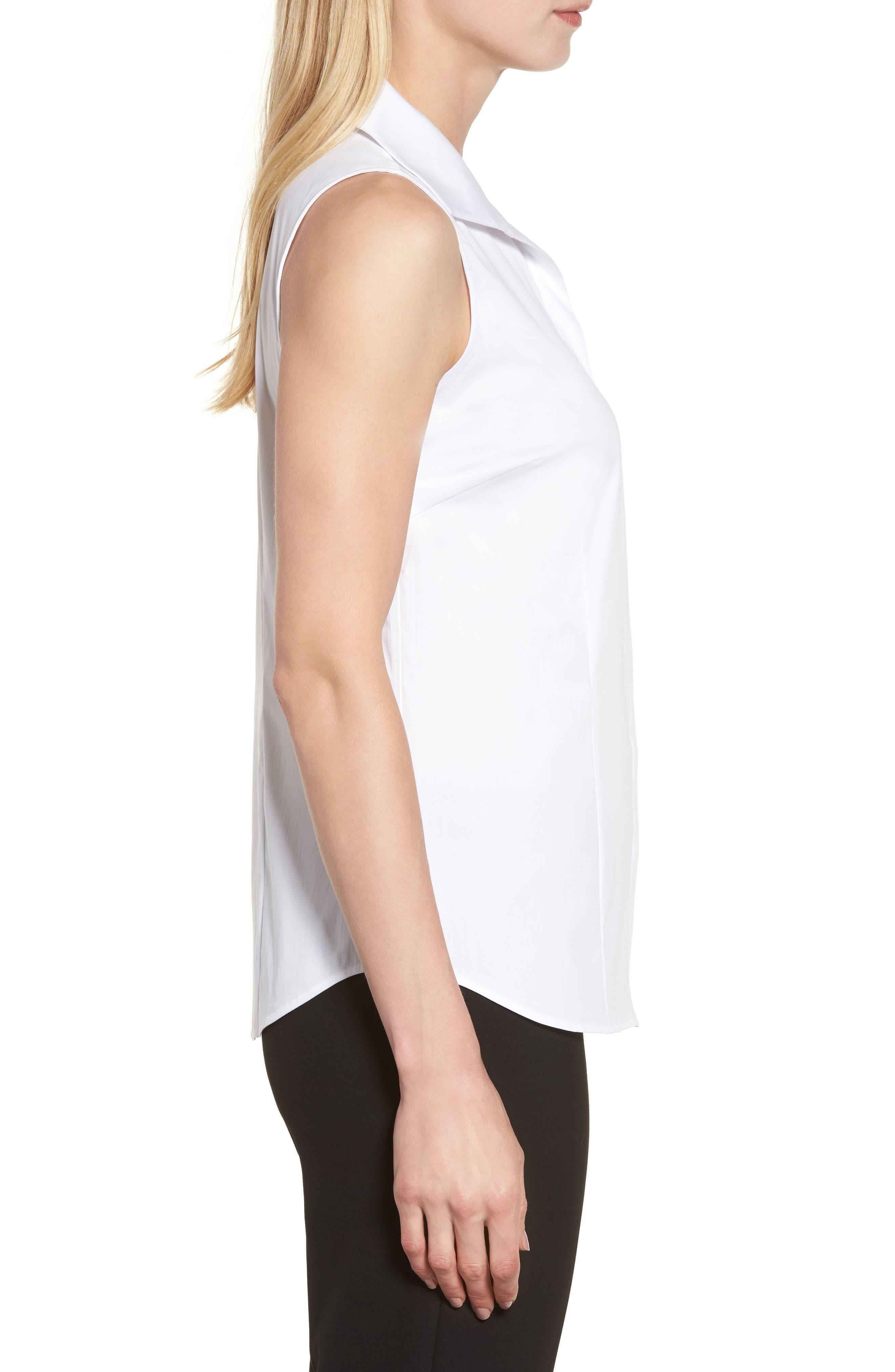 Alternate Image 3  - Ming Wang Sleeveless Shirt