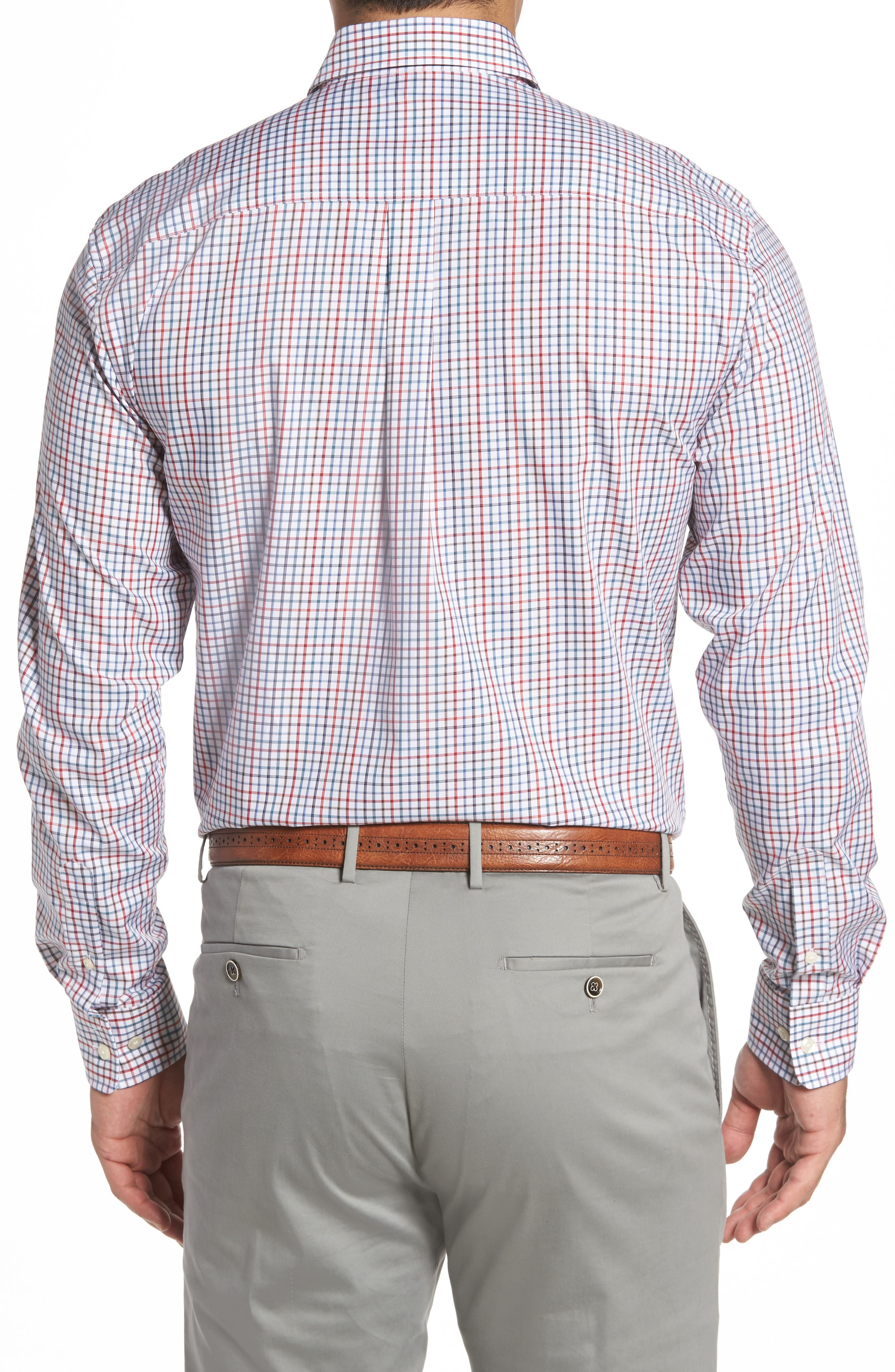 Snyder Classic Fit Check Sport Shirt,                             Alternate thumbnail 2, color,                             Phoenix