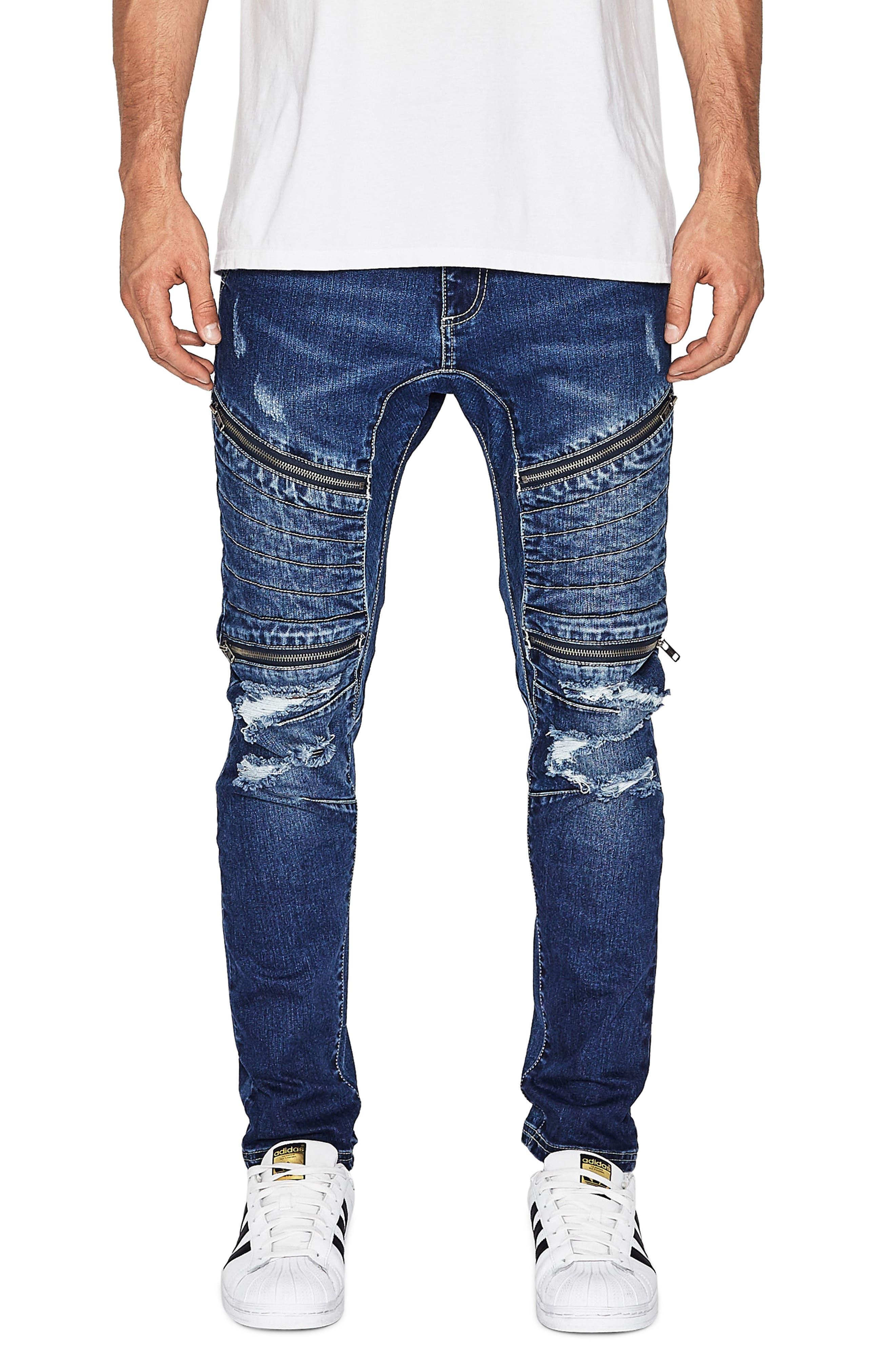 NXP Vengeance Skinny Moto Jeans
