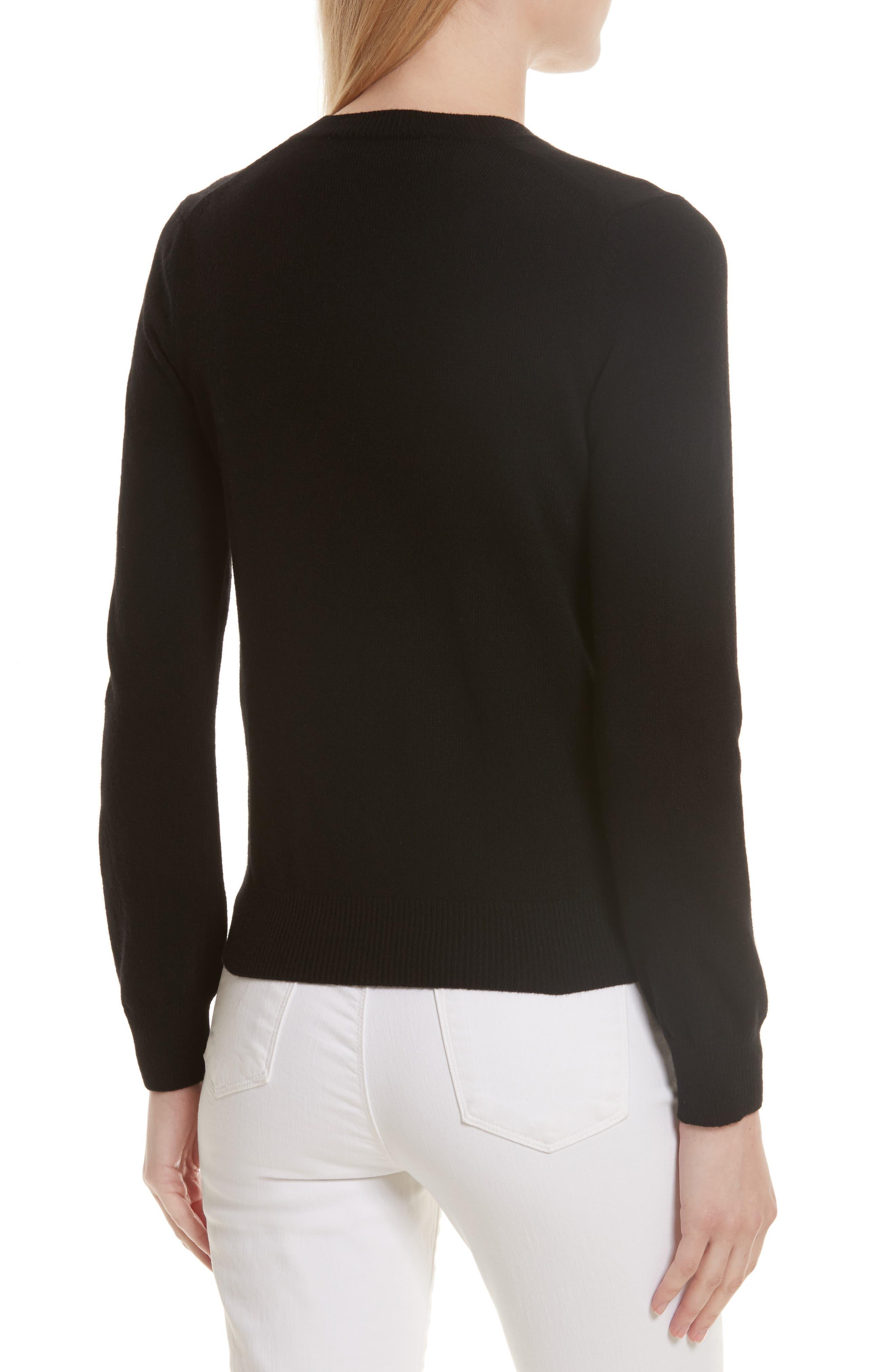 Alternate Image 2  - Comme des Garçons PLAY Double Heart Wool Sweater