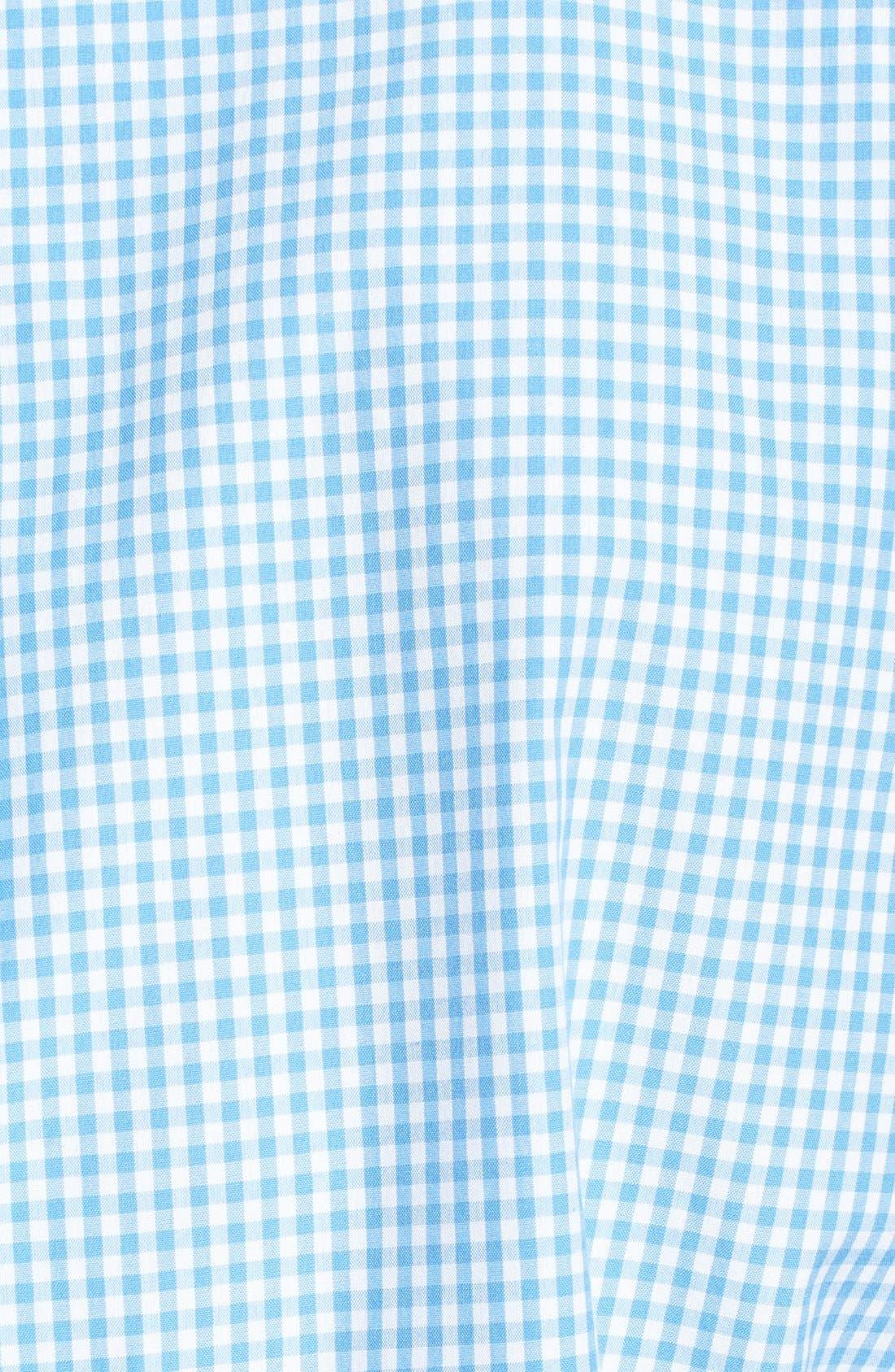 Alternate Image 3  - Vineyard Vines 'Whale' Classic Fit Check Poplin Sport Shirt