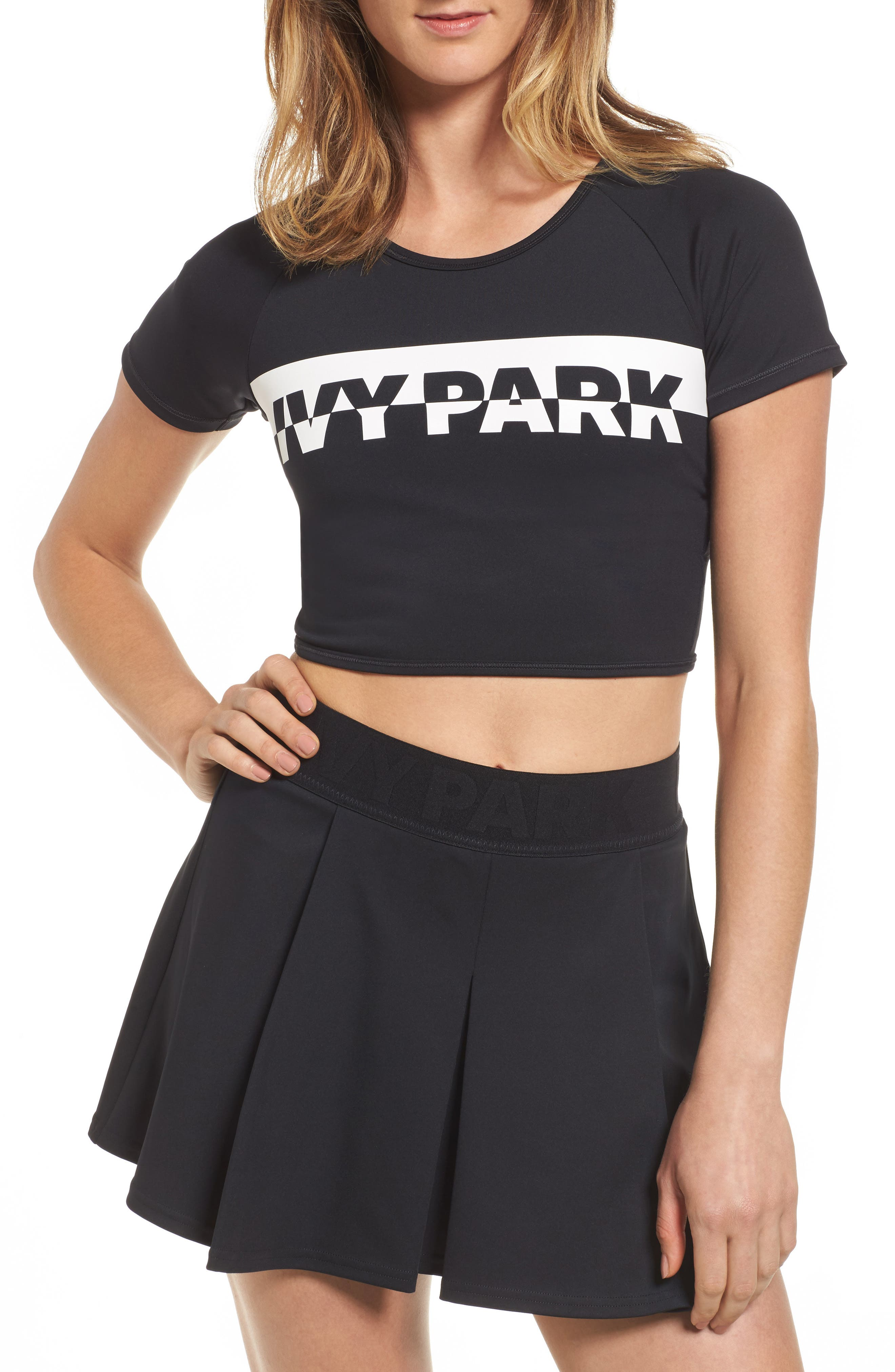 IVY PARK® Broken Logo Crop Top
