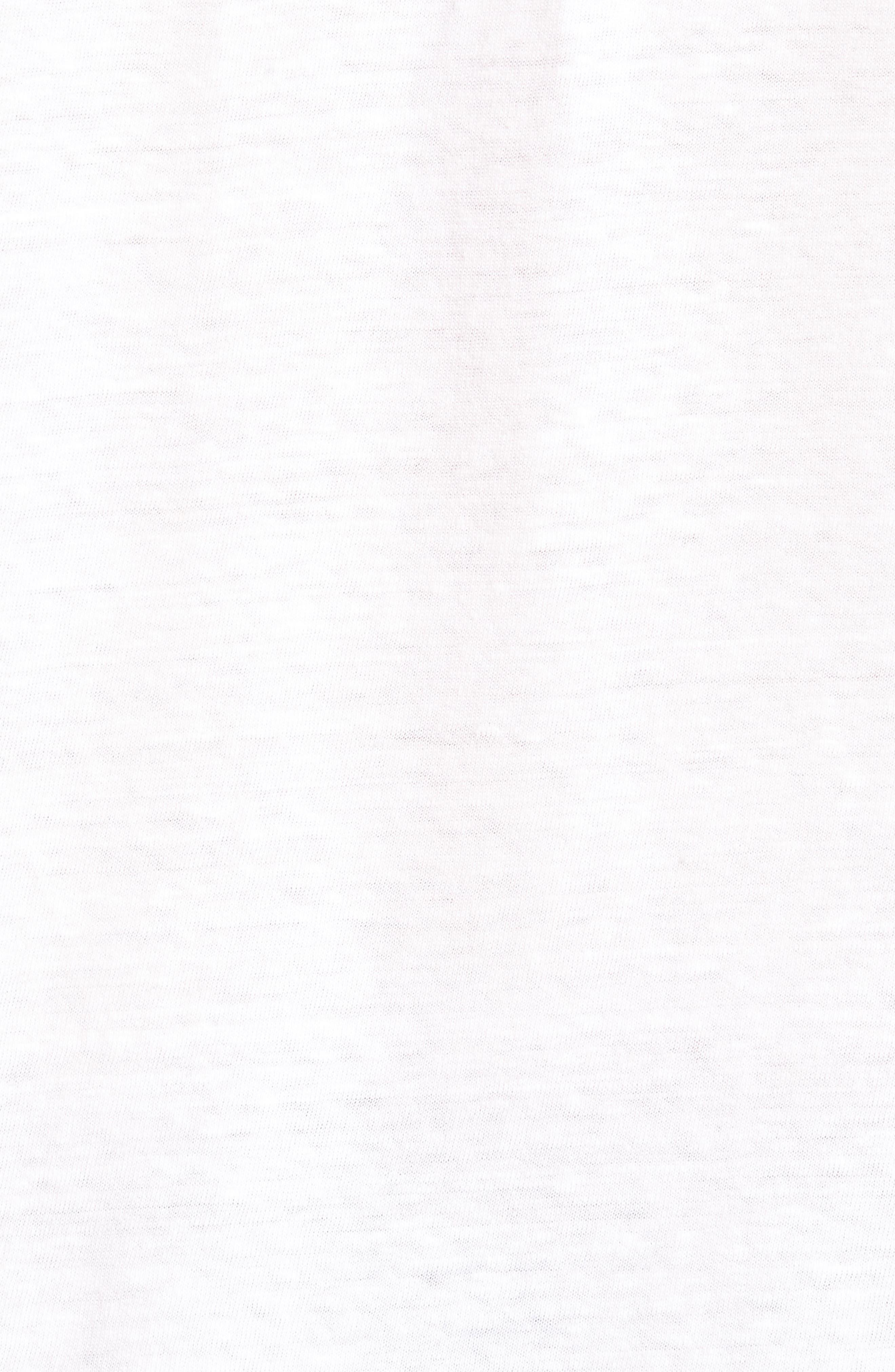 Bronco 6 T-Shirt,                             Alternate thumbnail 5, color,                             Blanc