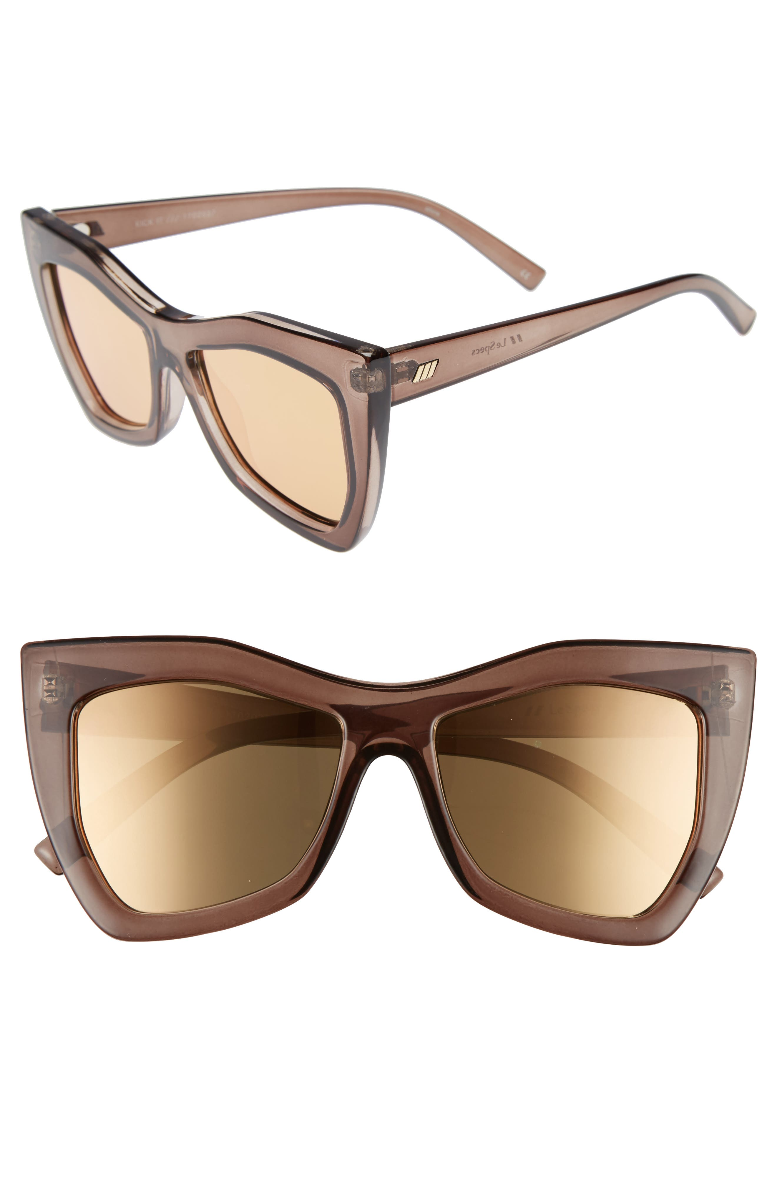 Le Specs Kick It 54mm Sunglasses