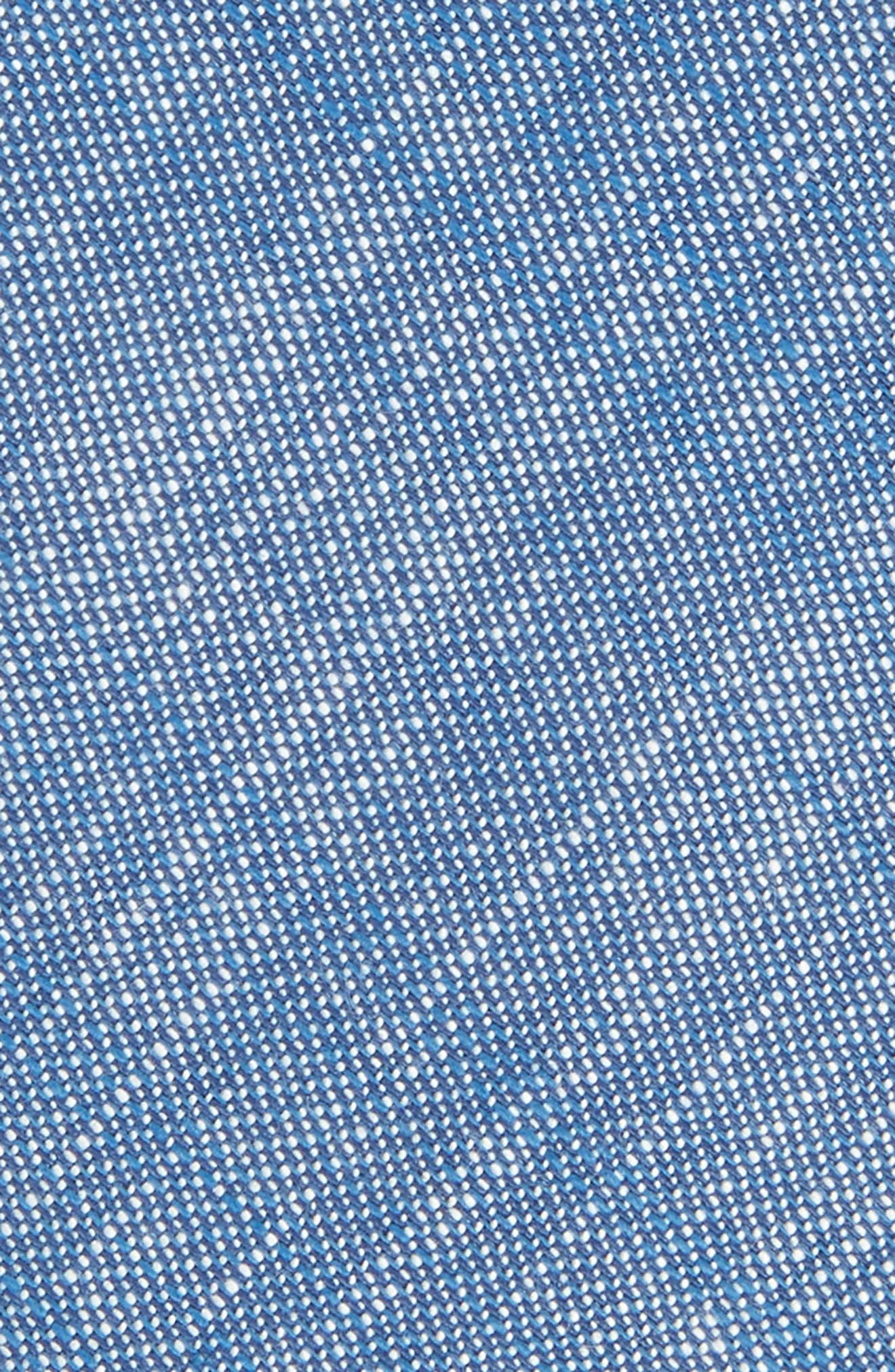 Alternate Image 2  - Nordstrom Men's Shop Tyler Solid Cotton Skinny Tie