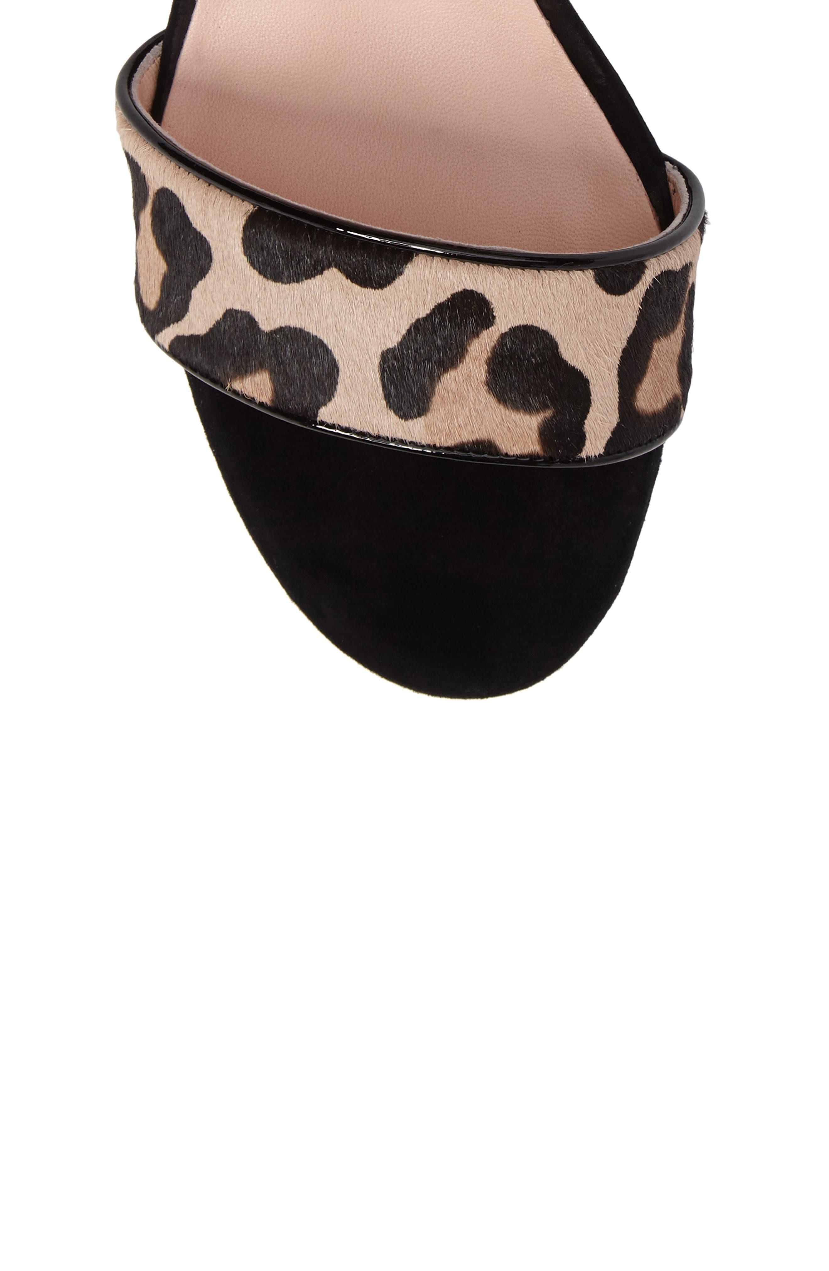Alternate Image 5  - kate spade new york watson genuine calf hair block heel sandal (Women)